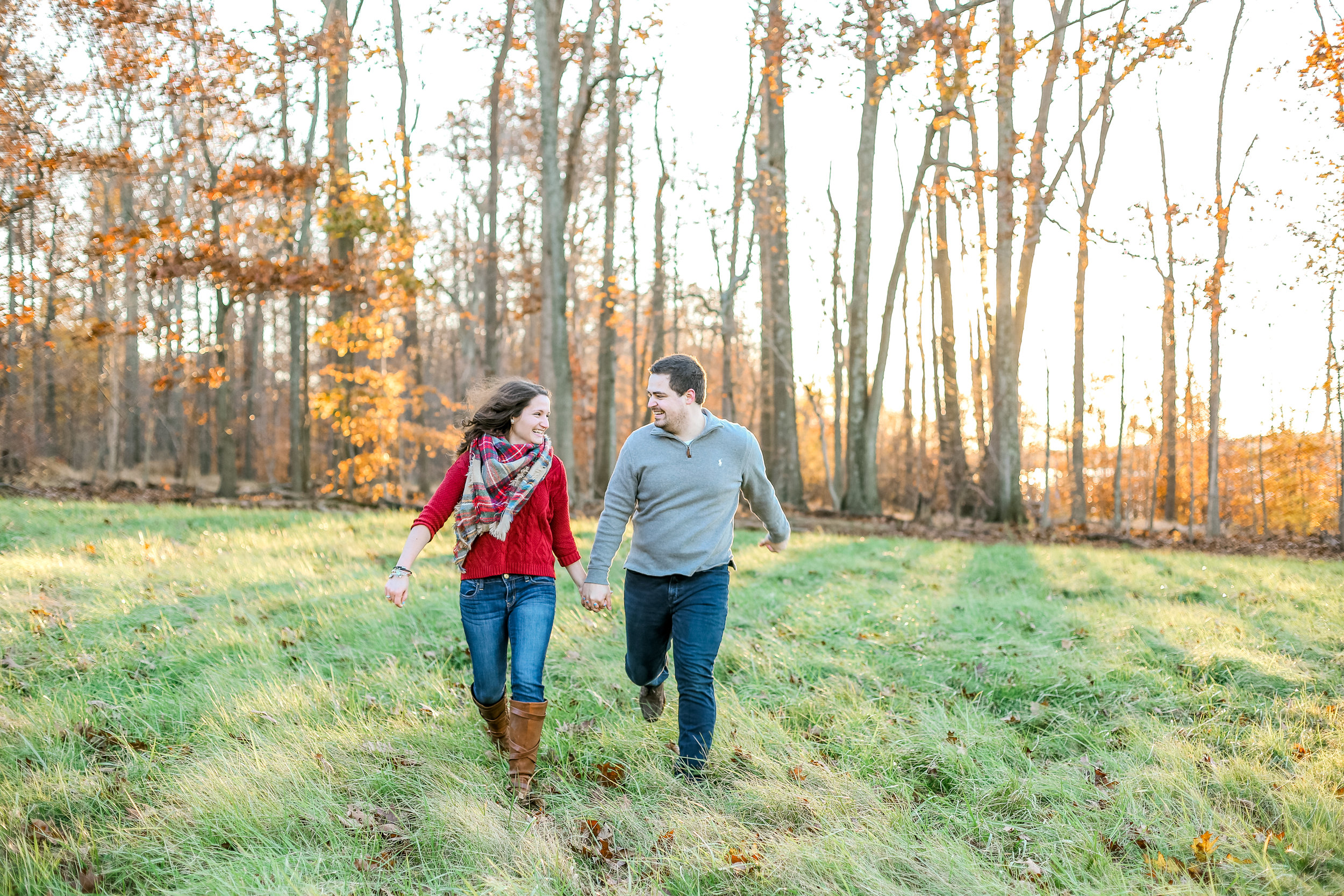 Bucks county Peace Valley Park Doylestown Lehigh Valley fall windy engagement session wedding and lifestyle photographer Lytle Photo Co (73 of 109).jpg