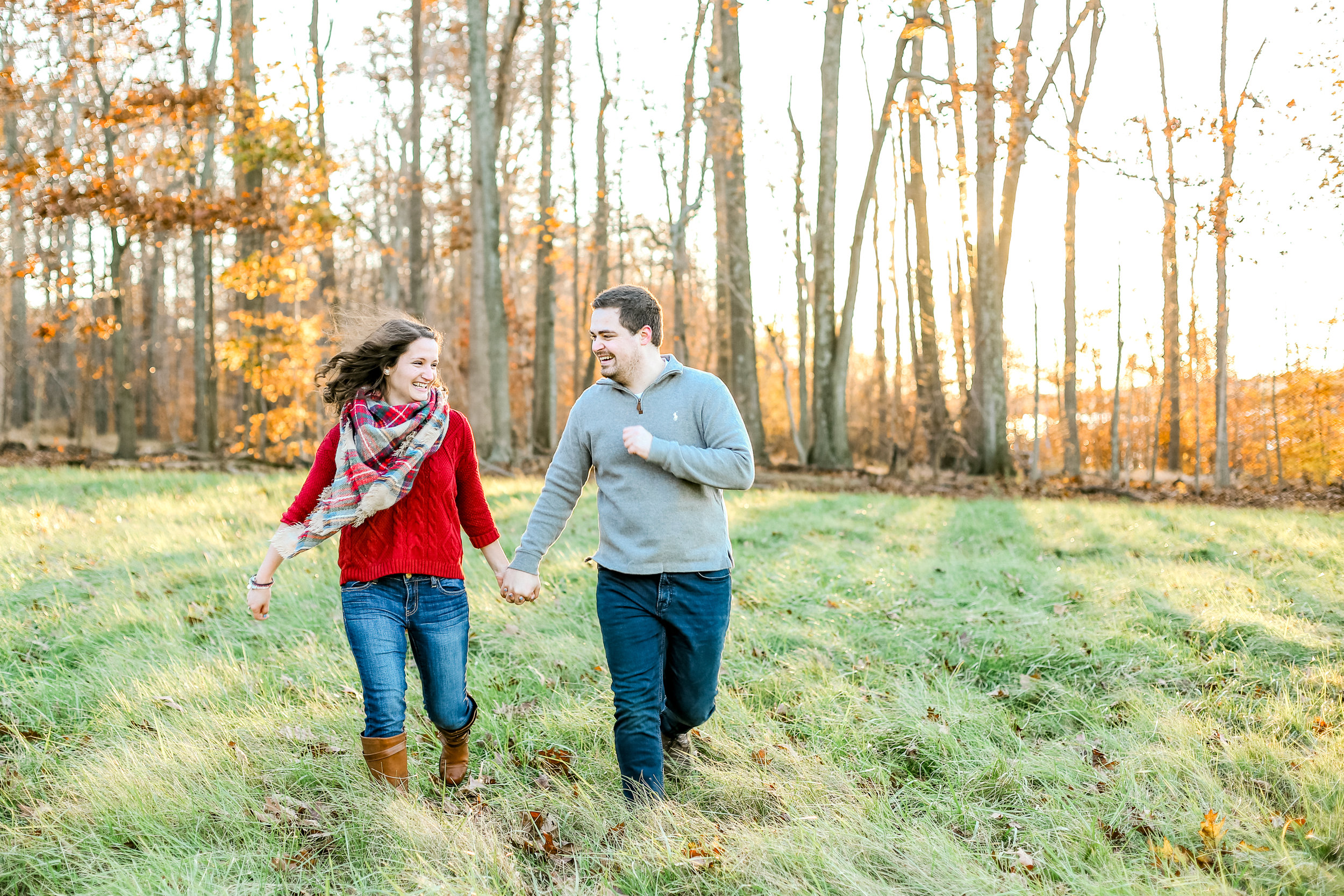 Bucks county Peace Valley Park Doylestown Lehigh Valley fall windy engagement session wedding and lifestyle photographer Lytle Photo Co (75 of 109).jpg