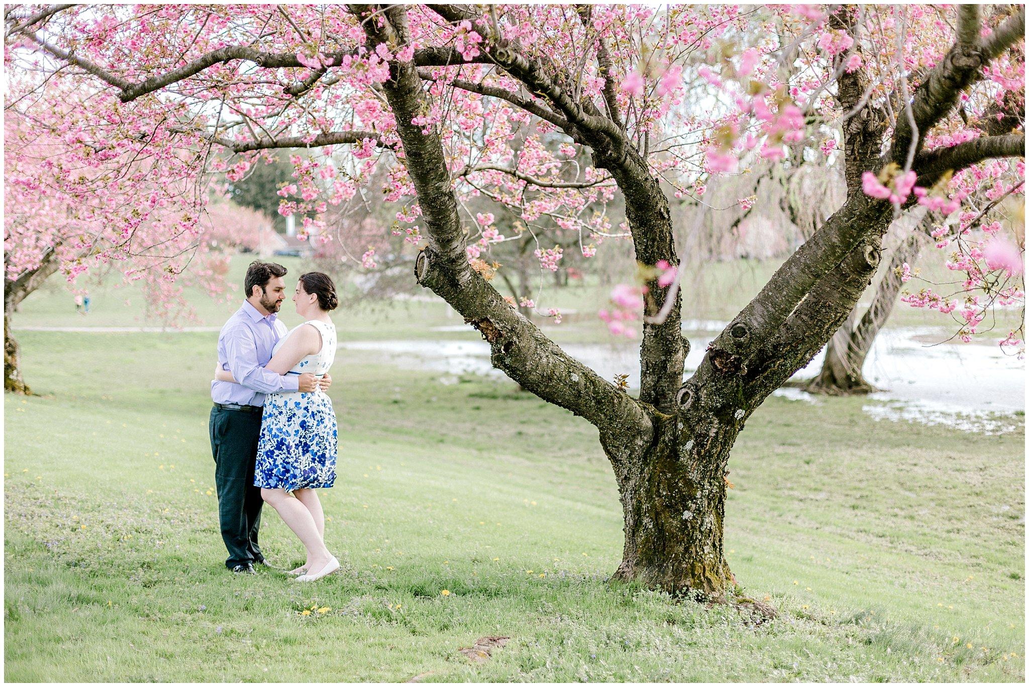 Lehigh Valley Spring Cherry Blossom Engagement Session Pennsylvania Wedding Photographer (2).jpg