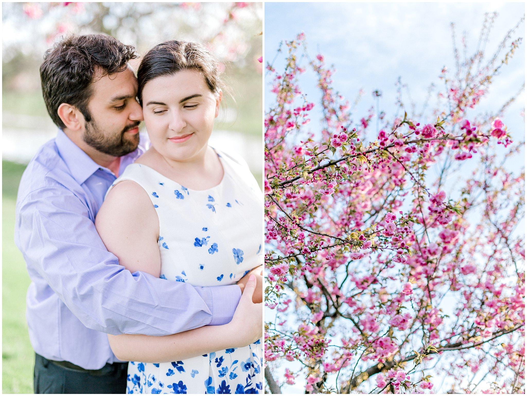 Lehigh Valley Spring Cherry Blossom Engagement Session Pennsylvania Wedding Photographer (4).jpg