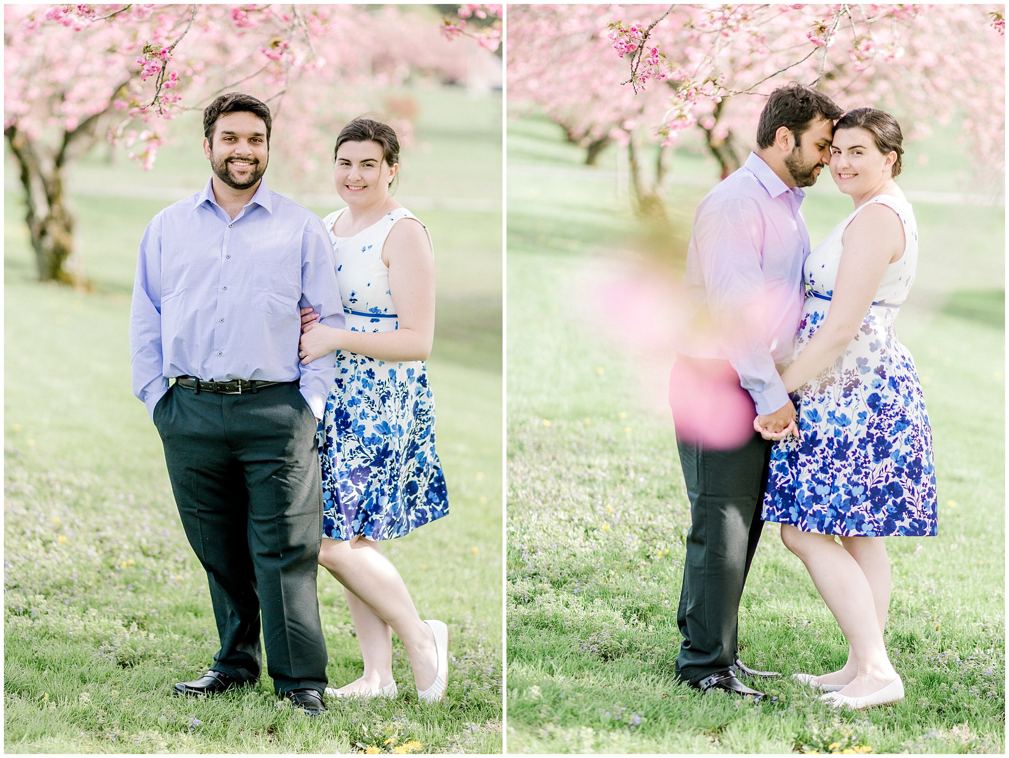 Lehigh Valley Spring Cherry Blossom Engagement Session Pennsylvania Wedding Photographer (6).jpg
