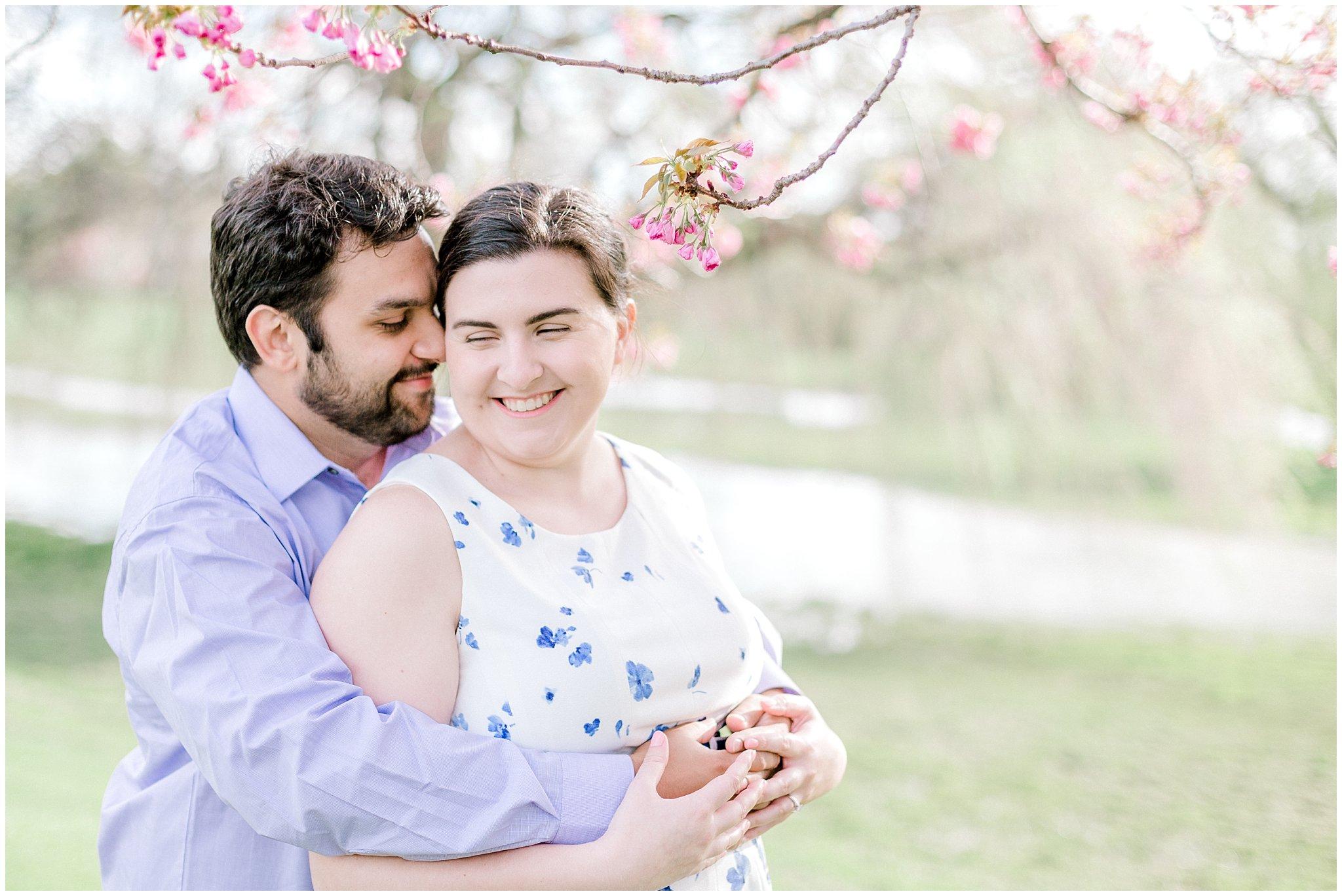 Lehigh Valley Spring Cherry Blossom Engagement Session Pennsylvania Wedding Photographer (9).jpg