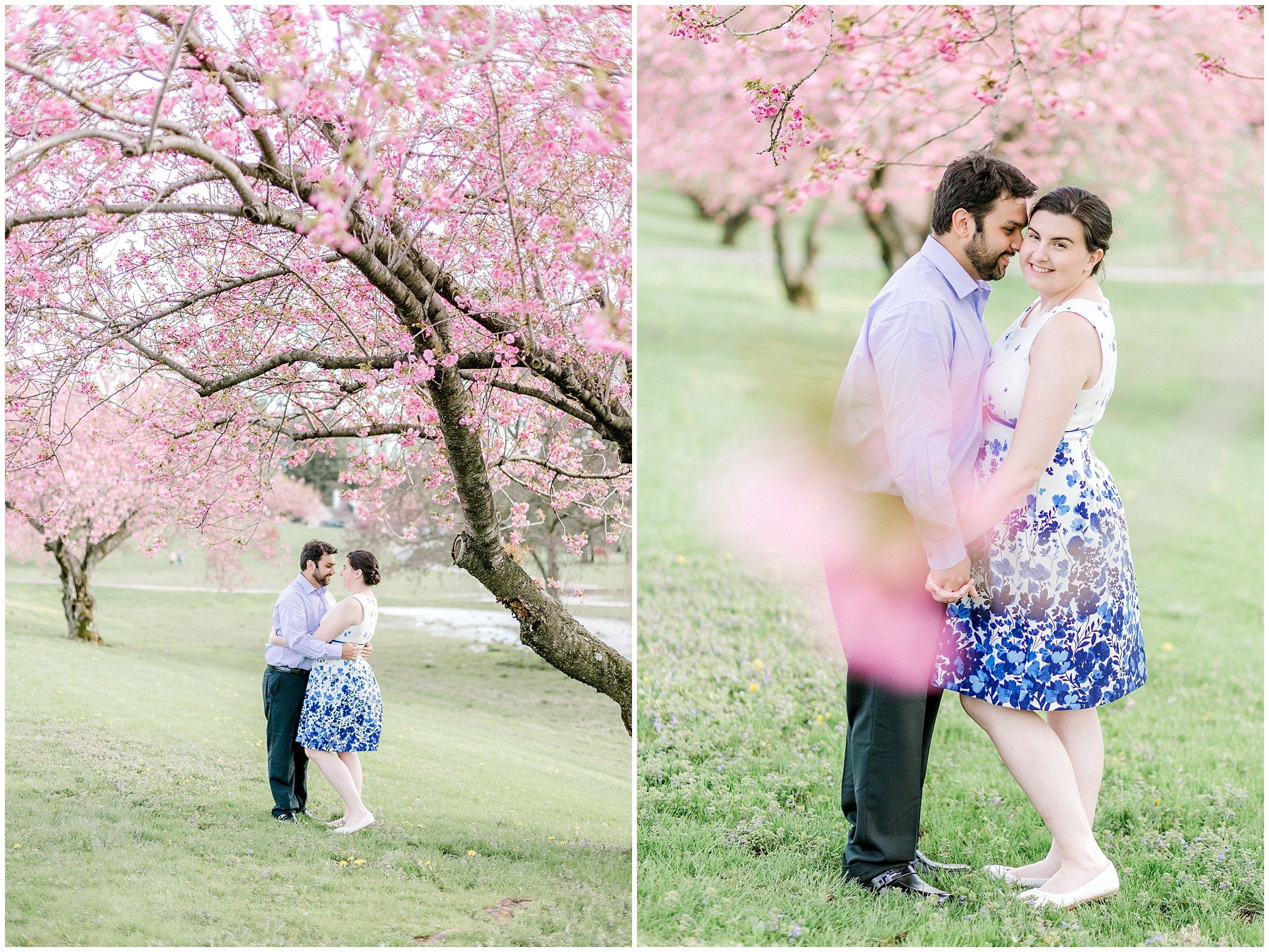 Lehigh Valley Spring Cherry Blossom Engagement Session Pennsylvania Wedding Photographer (13).jpg