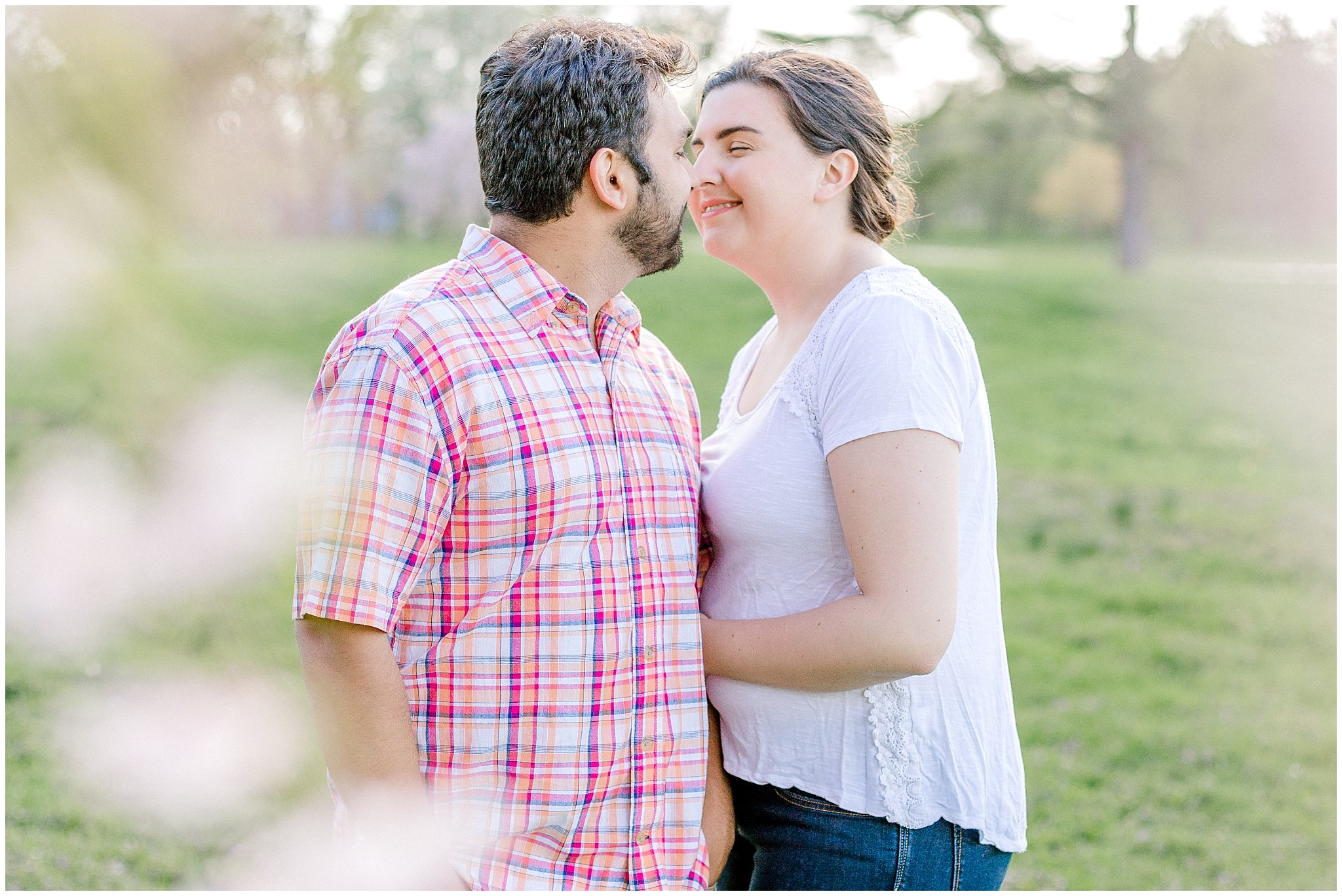 Lehigh Valley Spring Cherry Blossom Engagement Session Pennsylvania Wedding Photographer (18).jpg