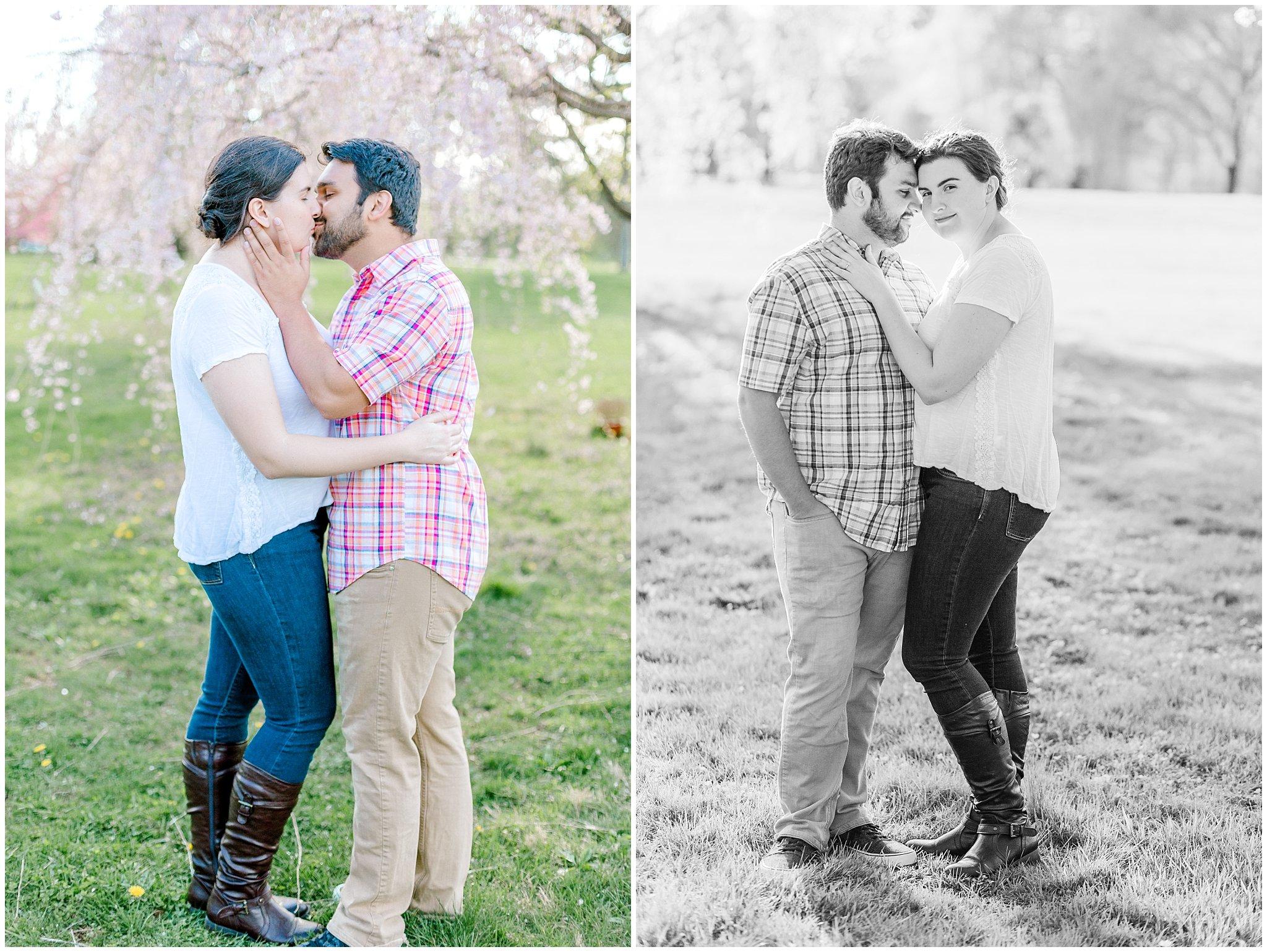Lehigh Valley Spring Cherry Blossom Engagement Session Pennsylvania Wedding Photographer (20).jpg
