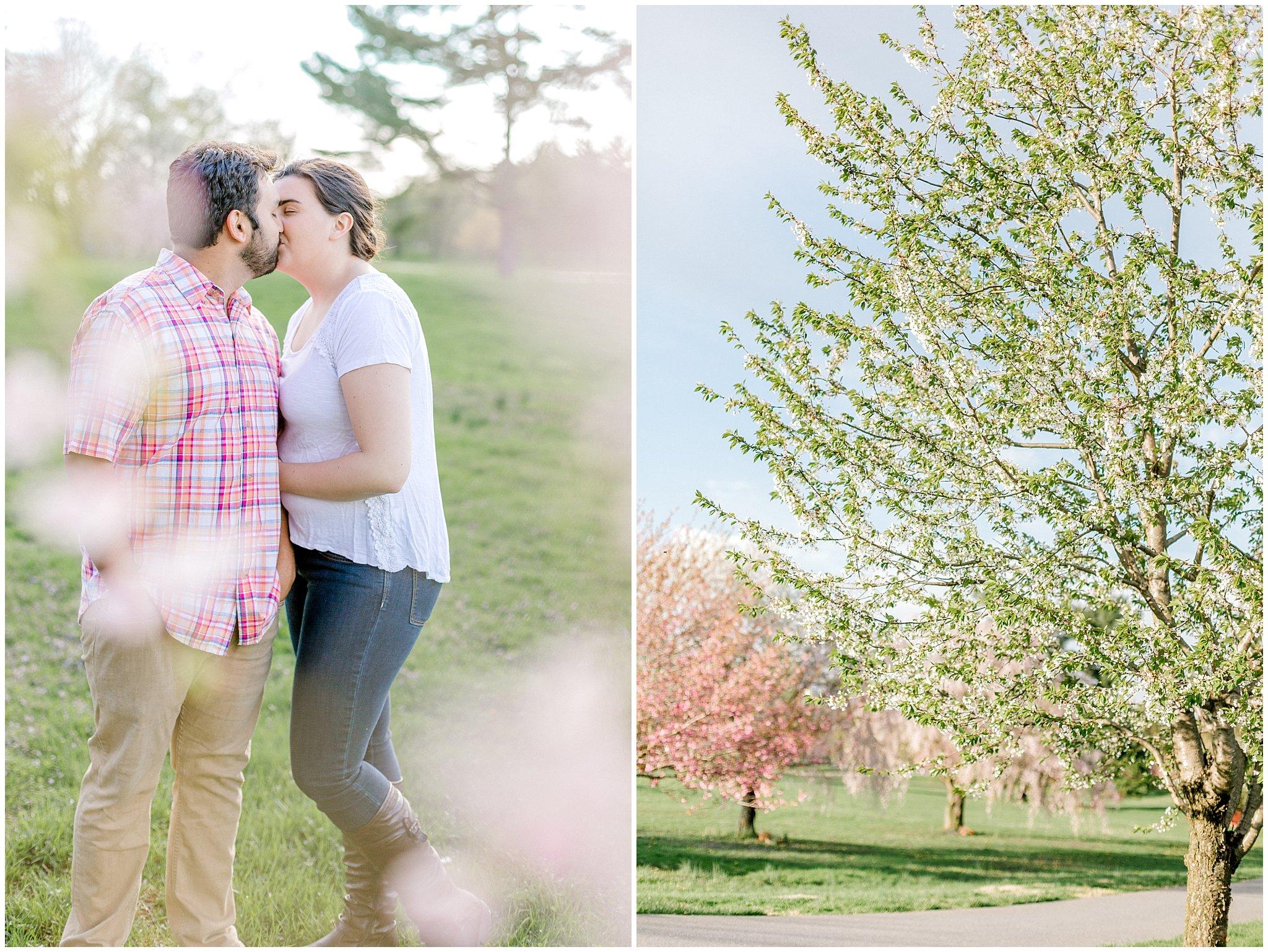 Lehigh Valley Spring Cherry Blossom Engagement Session Pennsylvania Wedding Photographer (22).jpg
