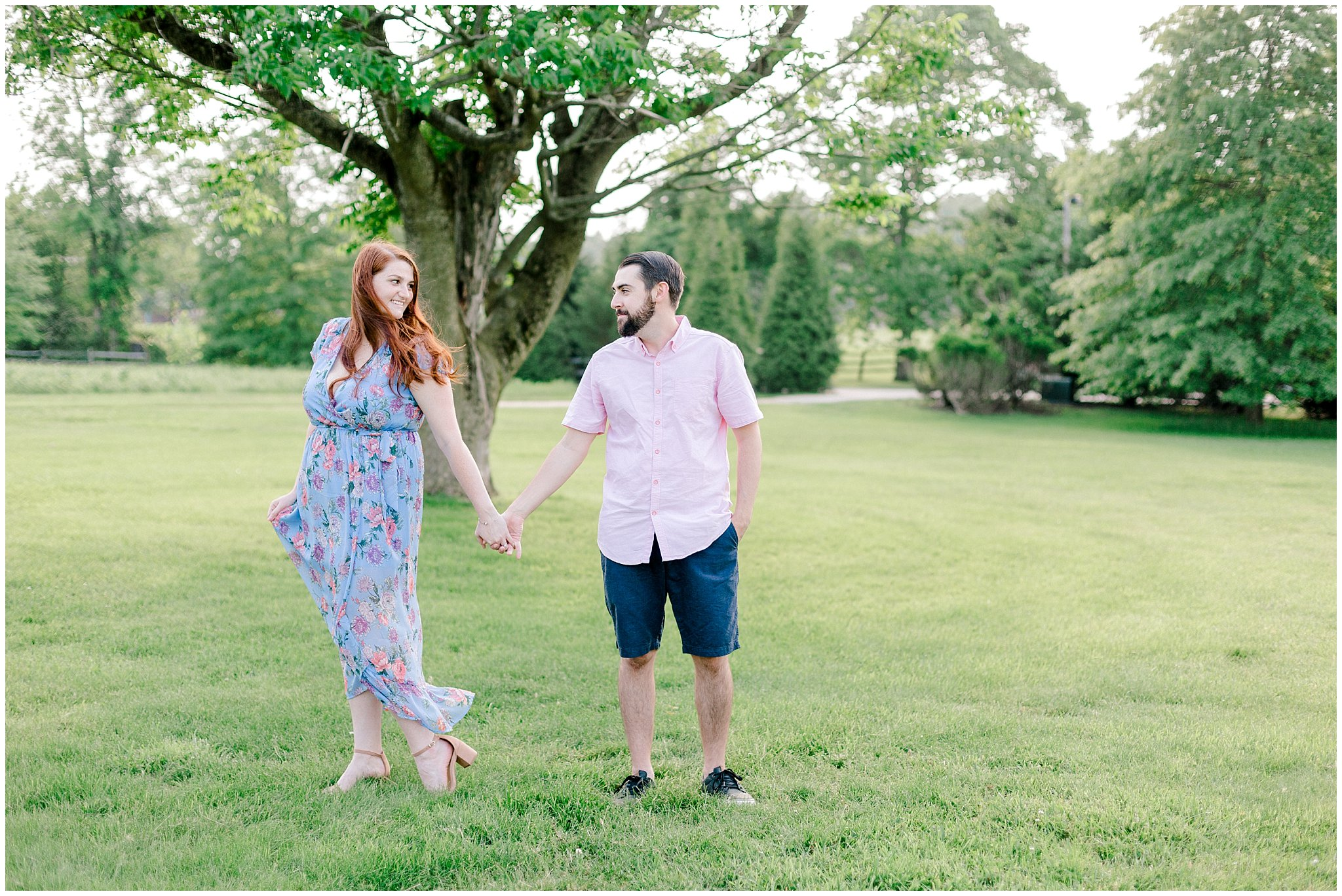 Manor house at prophecy Creek Blue Bell PA wedding venue summertime field engagement session lehigh valley based wedding and lifestyle photographe_0002.jpg