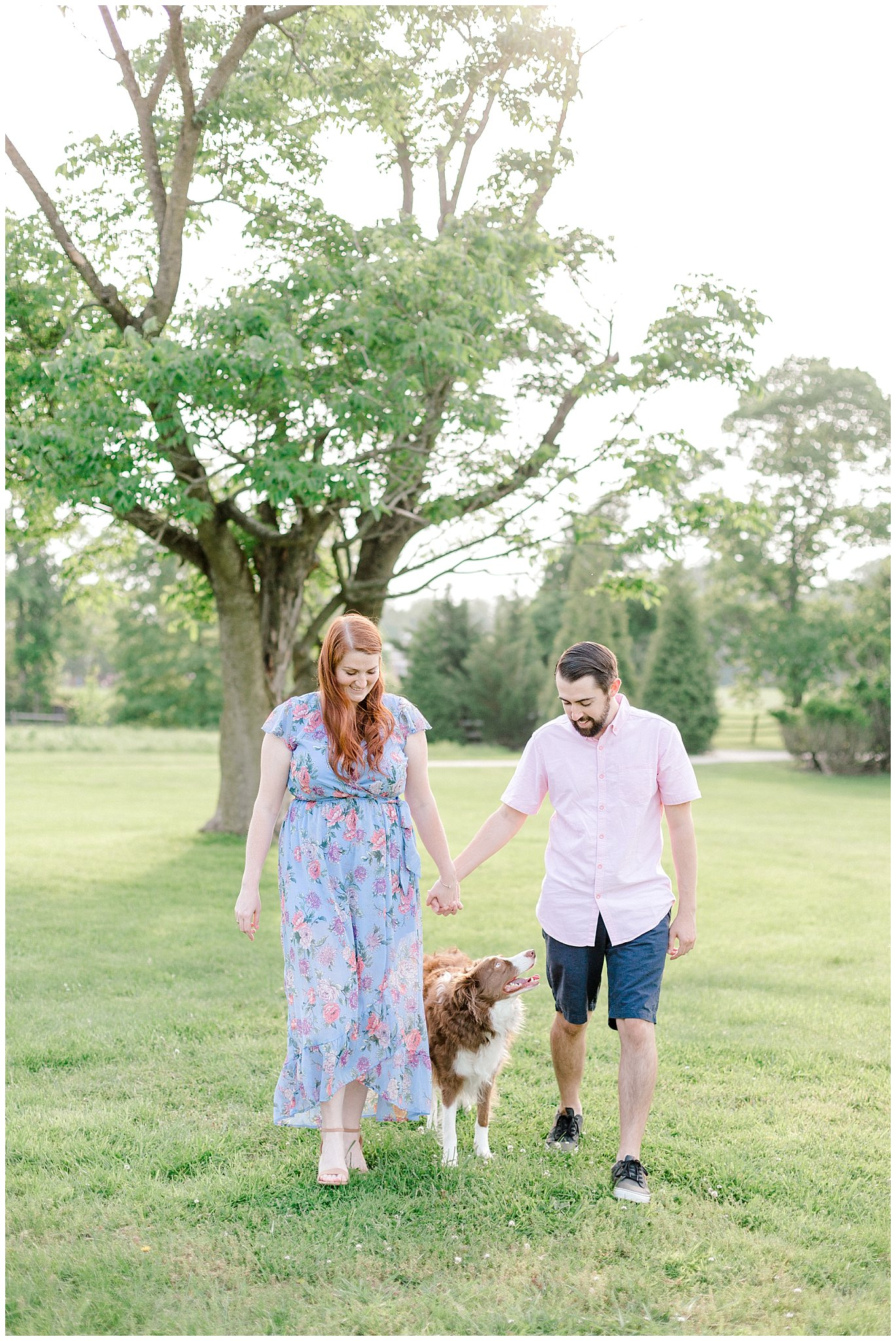 Manor house at prophecy Creek Blue Bell PA wedding venue summertime field engagement session lehigh valley based wedding and lifestyle photographe_0003.jpg