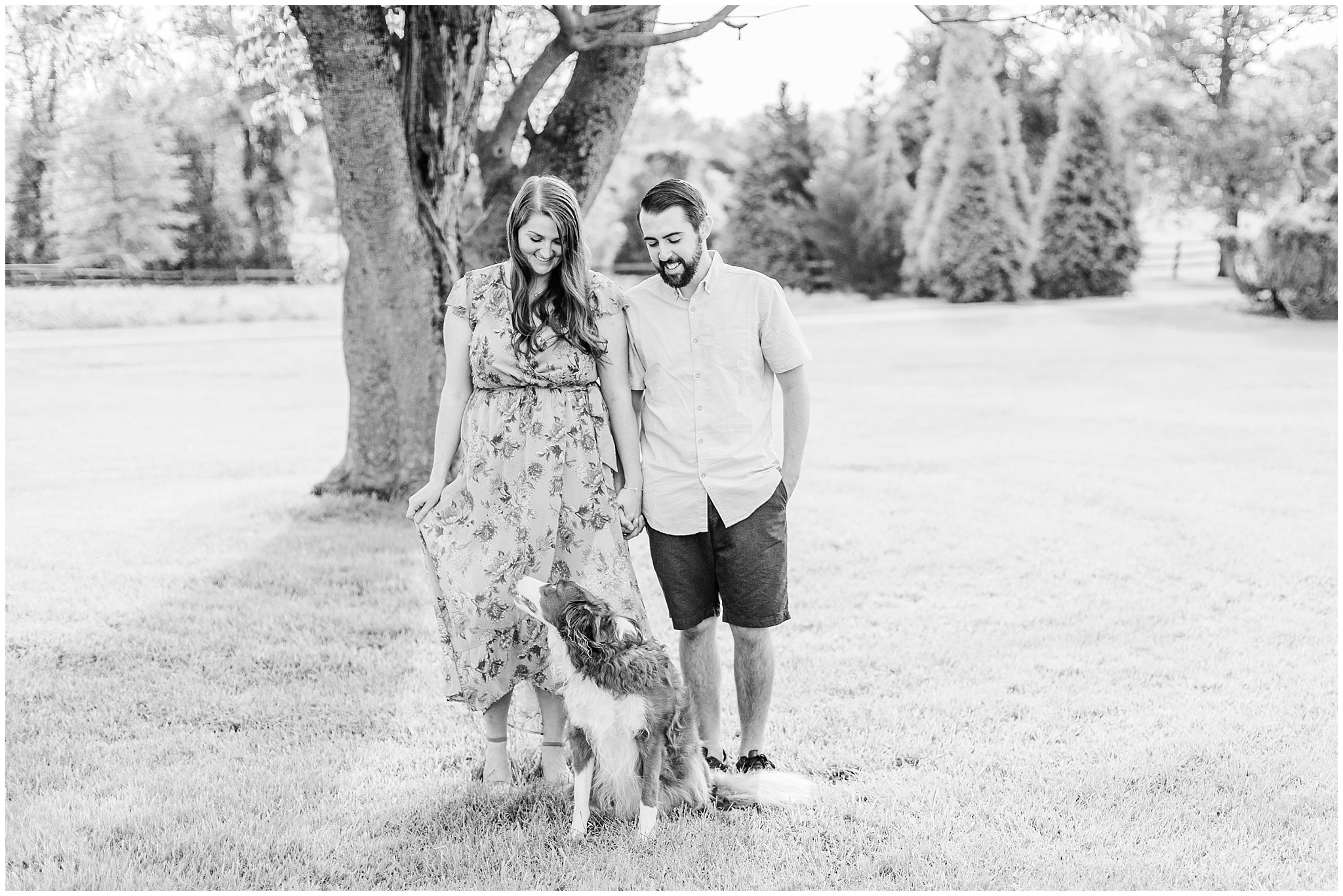 Manor house at prophecy Creek Blue Bell PA wedding venue summertime field engagement session lehigh valley based wedding and lifestyle photographe_0004.jpg