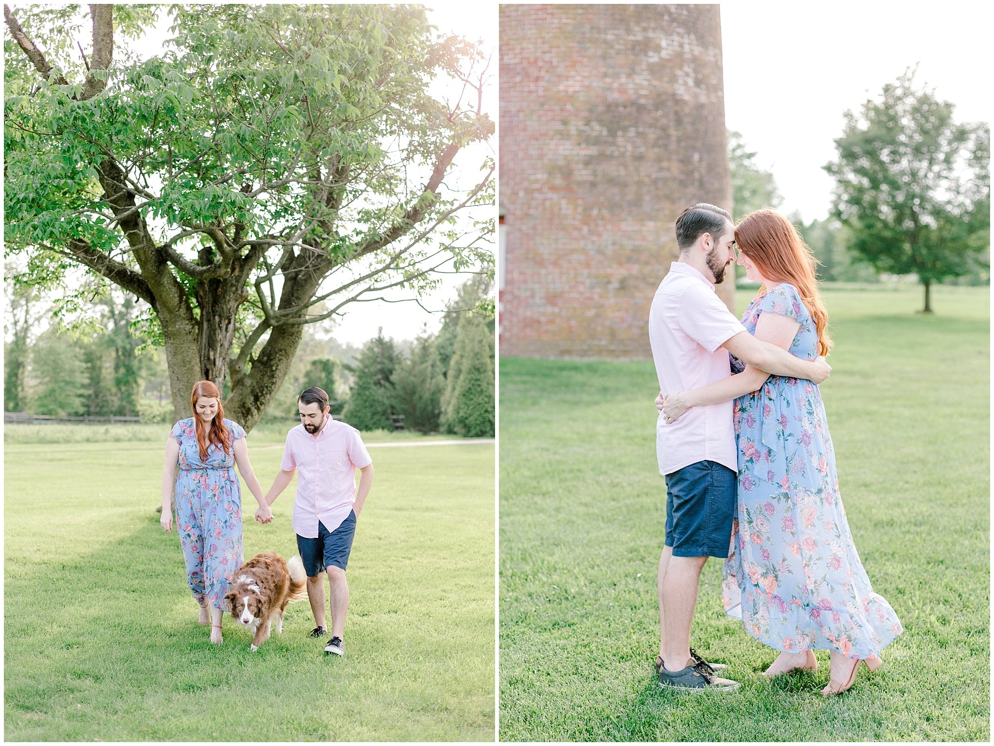 Manor house at prophecy Creek Blue Bell PA wedding venue summertime field engagement session lehigh valley based wedding and lifestyle photographe_0005.jpg