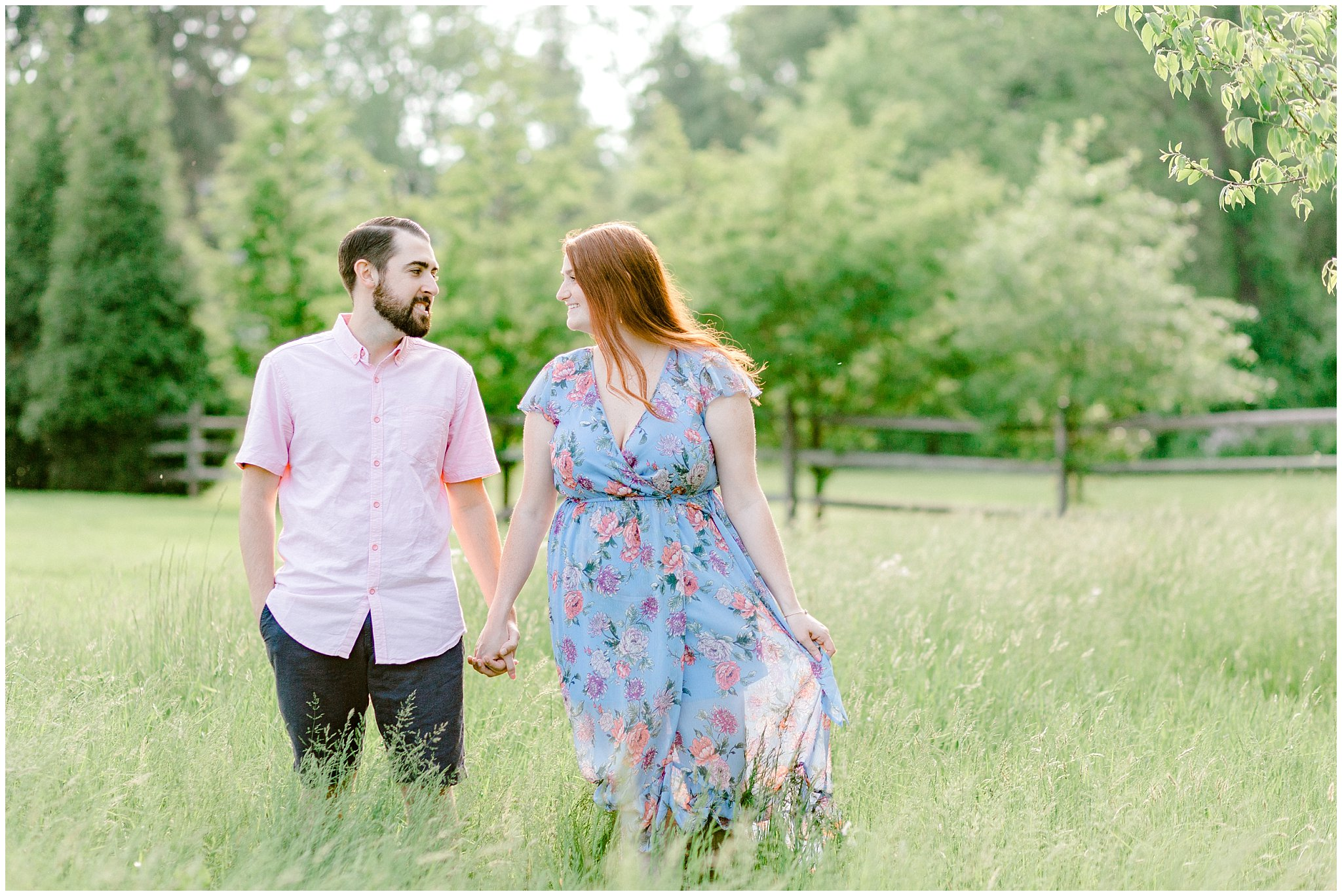 Manor house at prophecy Creek Blue Bell PA wedding venue summertime field engagement session lehigh valley based wedding and lifestyle photographe_0012.jpg