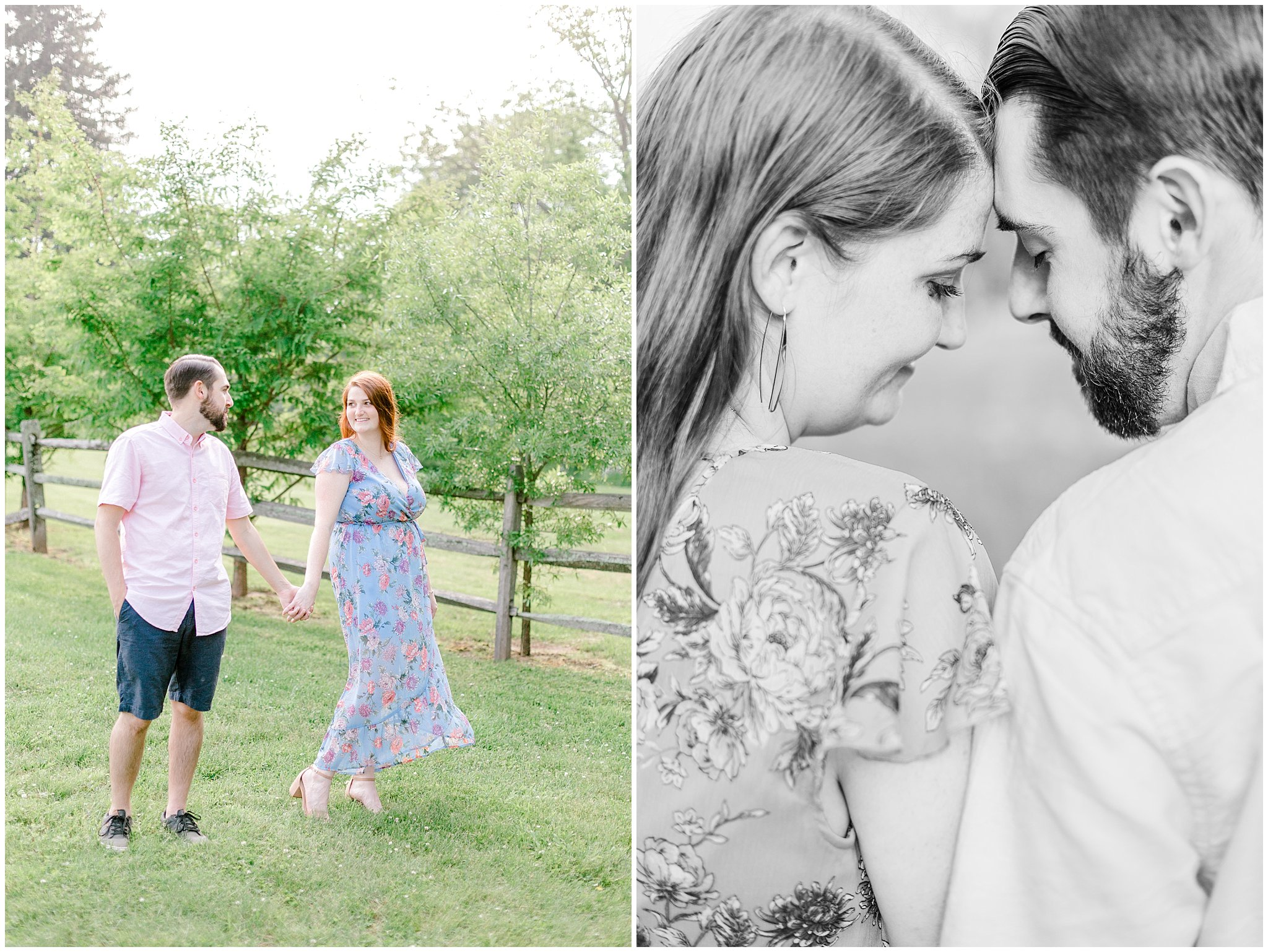 Manor house at prophecy Creek Blue Bell PA wedding venue summertime field engagement session lehigh valley based wedding and lifestyle photographe_0017.jpg
