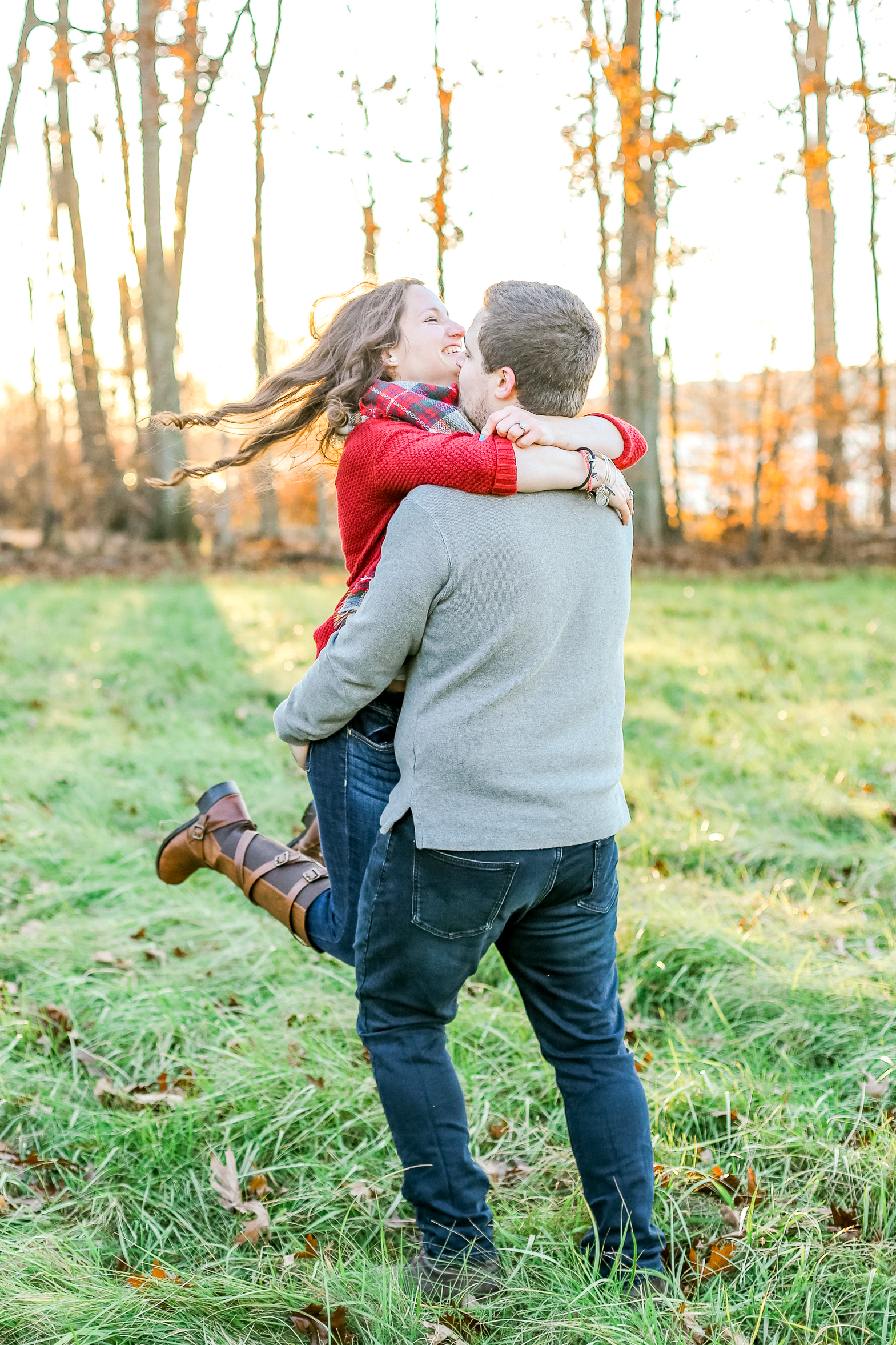 Bucks county Peace Valley Park Doylestown Lehigh Valley fall windy engagement session wedding and lifestyle photographer Lytle Photo Co (69 of 109).jpg