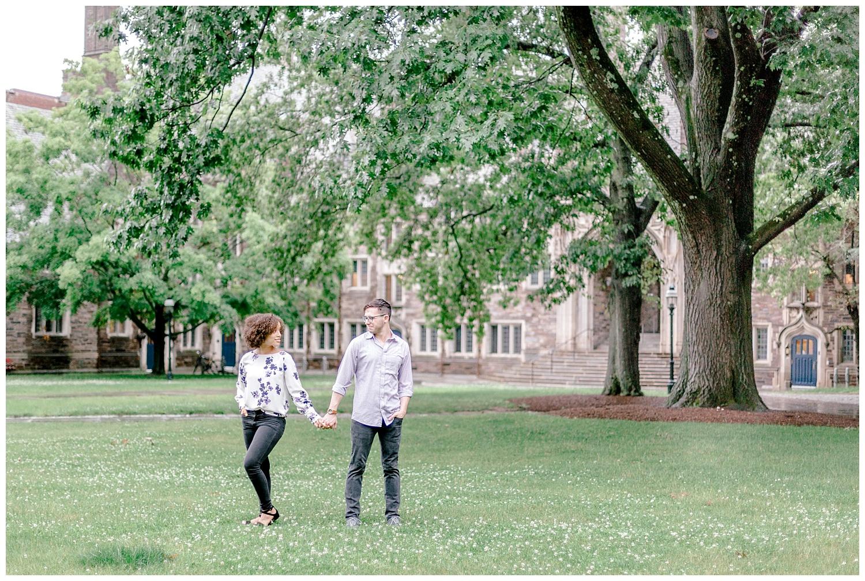 Princeton University Campus engagement session Pennsylvania based wedding and lifestyle photographer lytle photographer_0006.jpg