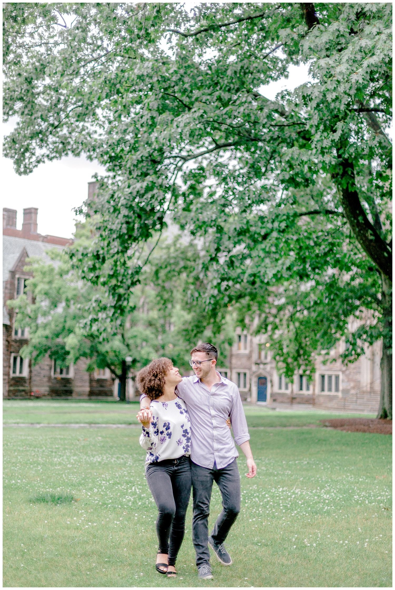 Princeton University Campus engagement session Pennsylvania based wedding and lifestyle photographer lytle photographer_0008.jpg
