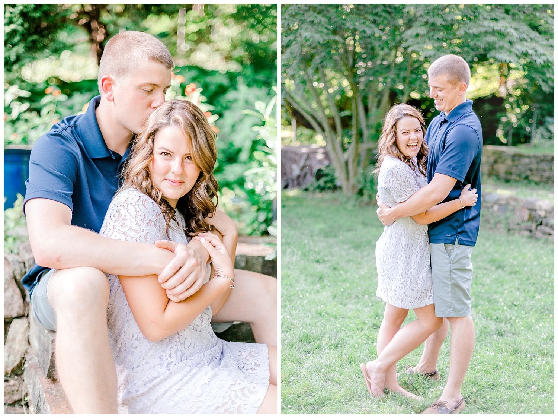 Welkinweir estate summertime engagement session Pennsylvania based wedding and lifestyle photographer lytle photography_0003.jpg