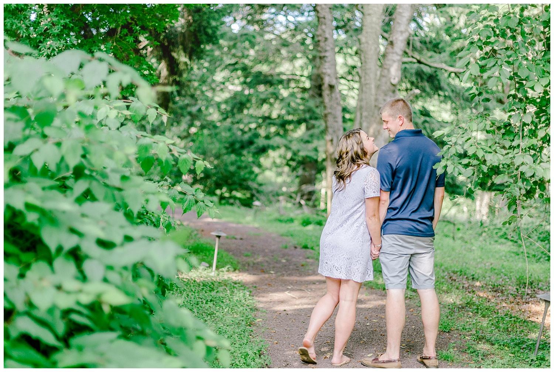 Welkinweir estate summertime engagement session Pennsylvania based wedding and lifestyle photographer lytle photography_0011.jpg