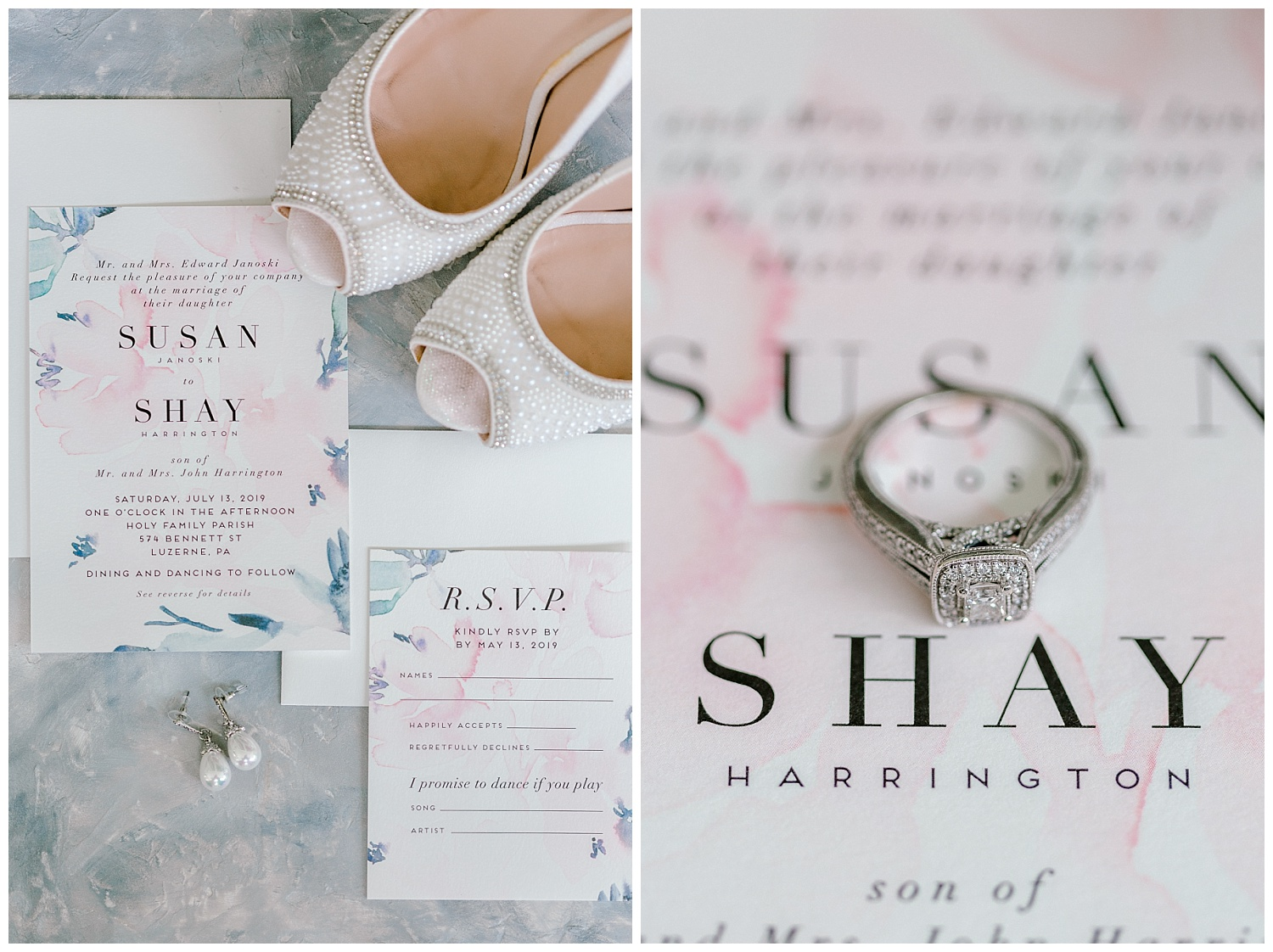 Navy and Blush pink inspired summertime whitewoods wedding in Northeastern Pennsylvania NEPA wapwallopen wedding venue by  PA based wedding and lifestyle photographer Lytle photography_0001.jpg