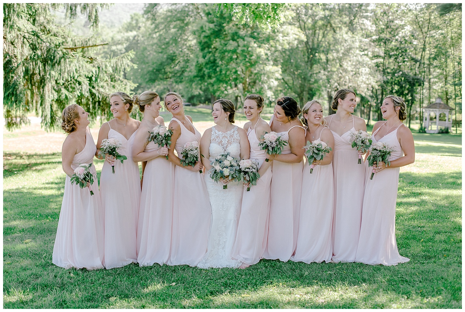 Navy and Blush pink inspired summertime whitewoods wedding in Northeastern Pennsylvania NEPA wapwallopen wedding venue by  PA based wedding and lifestyle photographer Lytle photography_0029.jpg
