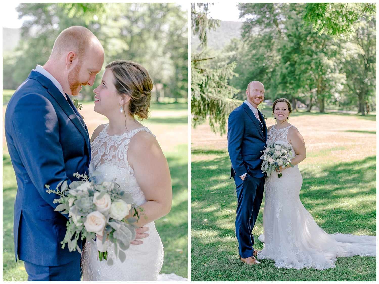Navy and Blush pink inspired summertime whitewoods wedding in Northeastern Pennsylvania NEPA wapwallopen wedding venue by  PA based wedding and lifestyle photographer Lytle photography_0031.jpg