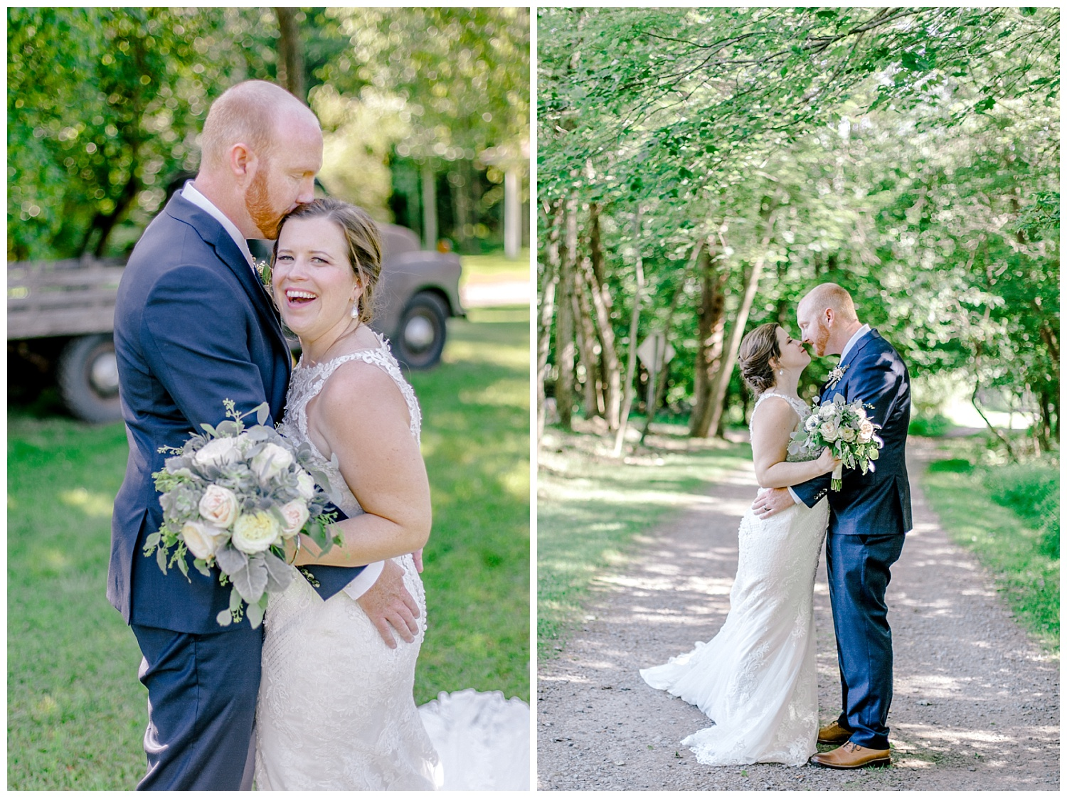 Navy and Blush pink inspired summertime whitewoods wedding in Northeastern Pennsylvania NEPA wapwallopen wedding venue by  PA based wedding and lifestyle photographer Lytle photography_0035.jpg
