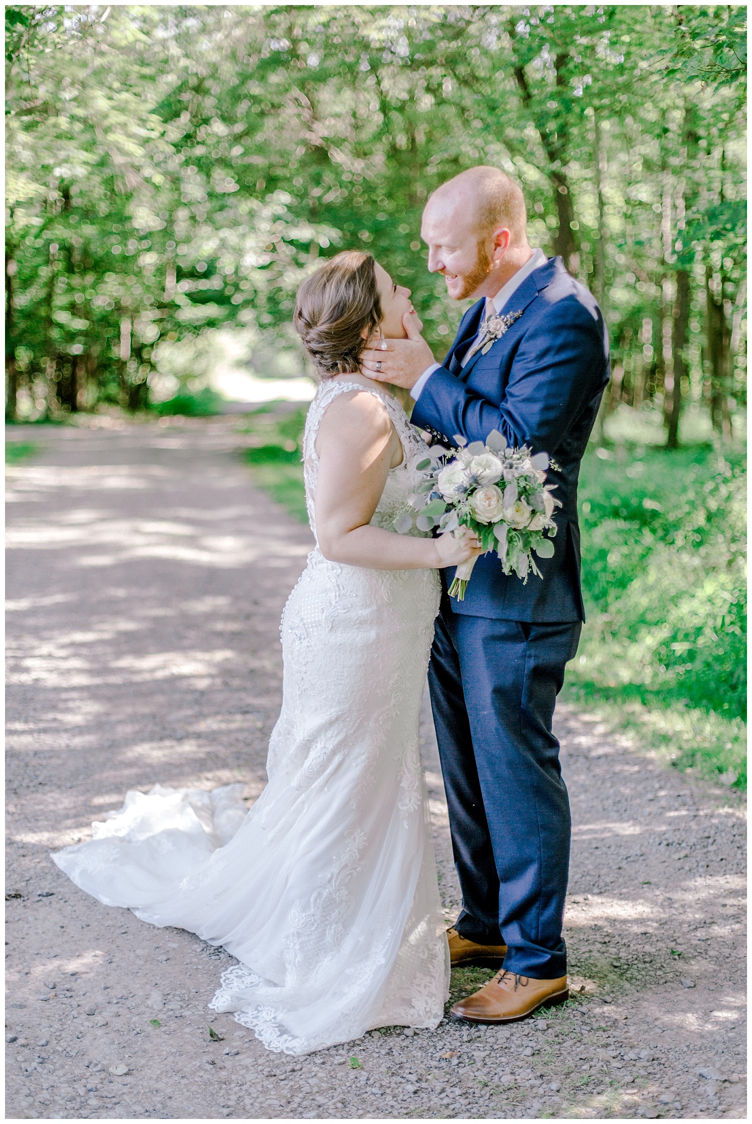 Navy and Blush pink inspired summertime whitewoods wedding in Northeastern Pennsylvania NEPA wapwallopen wedding venue by  PA based wedding and lifestyle photographer Lytle photography_0037.jpg