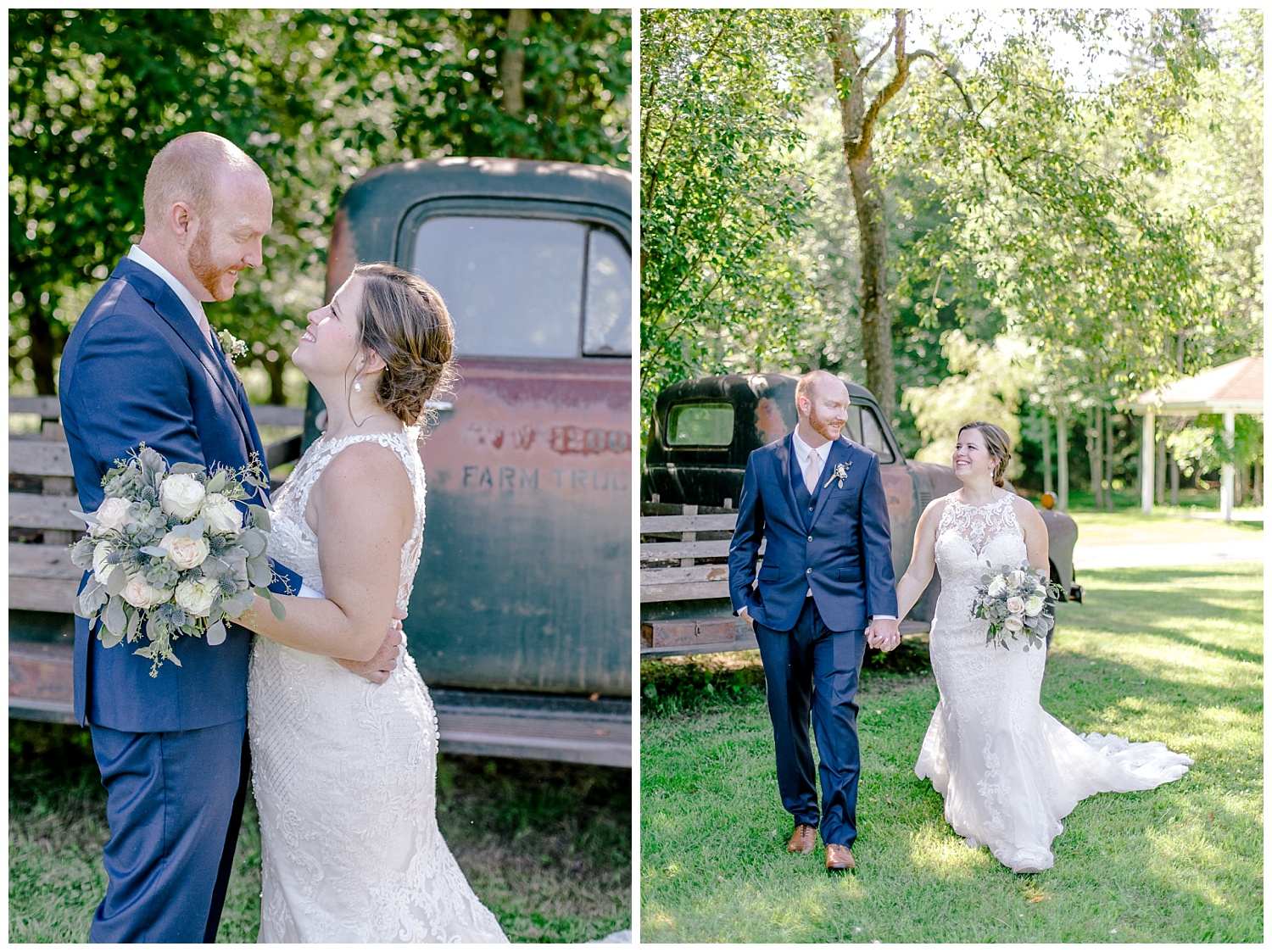 Navy and Blush pink inspired summertime whitewoods wedding in Northeastern Pennsylvania NEPA wapwallopen wedding venue by  PA based wedding and lifestyle photographer Lytle photography_0038.jpg