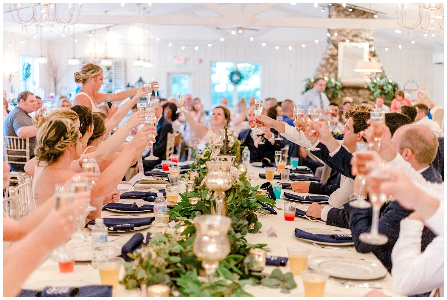 Navy and Blush pink inspired summertime whitewoods wedding in Northeastern Pennsylvania NEPA wapwallopen wedding venue by  PA based wedding and lifestyle photographer Lytle photography_0050.jpg