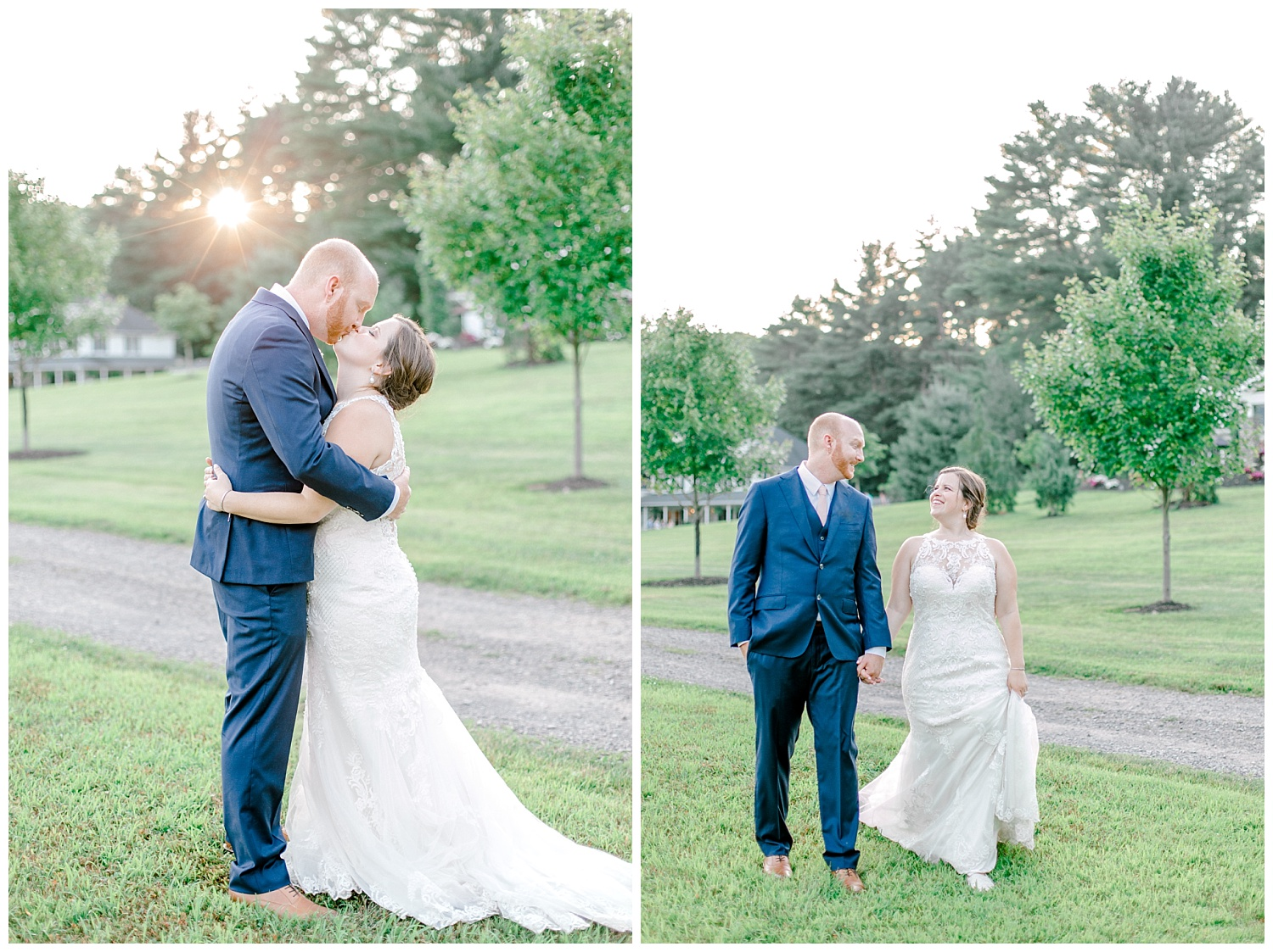 Navy and Blush pink inspired summertime whitewoods wedding in Northeastern Pennsylvania NEPA wapwallopen wedding venue by  PA based wedding and lifestyle photographer Lytle photography_0057.jpg