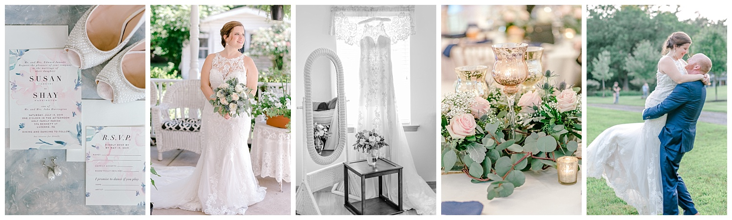 Navy and Blush pink inspired summertime whitewoods wedding in Northeastern Pennsylvania NEPA wapwallopen wedding venue by  PA based wedding and lifestyle photographer Lytle photography_0067.jpg