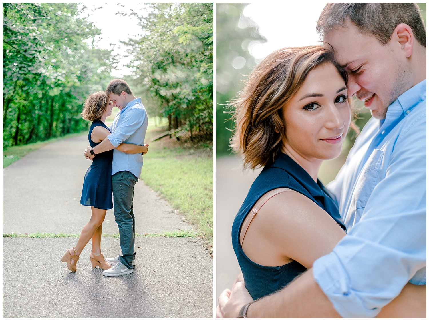 Wooded sunny Summertime engagement session in Odenton Maryland by Pennsylvania based wedding and lifestyle photographer Lytle photography_0001.jpg