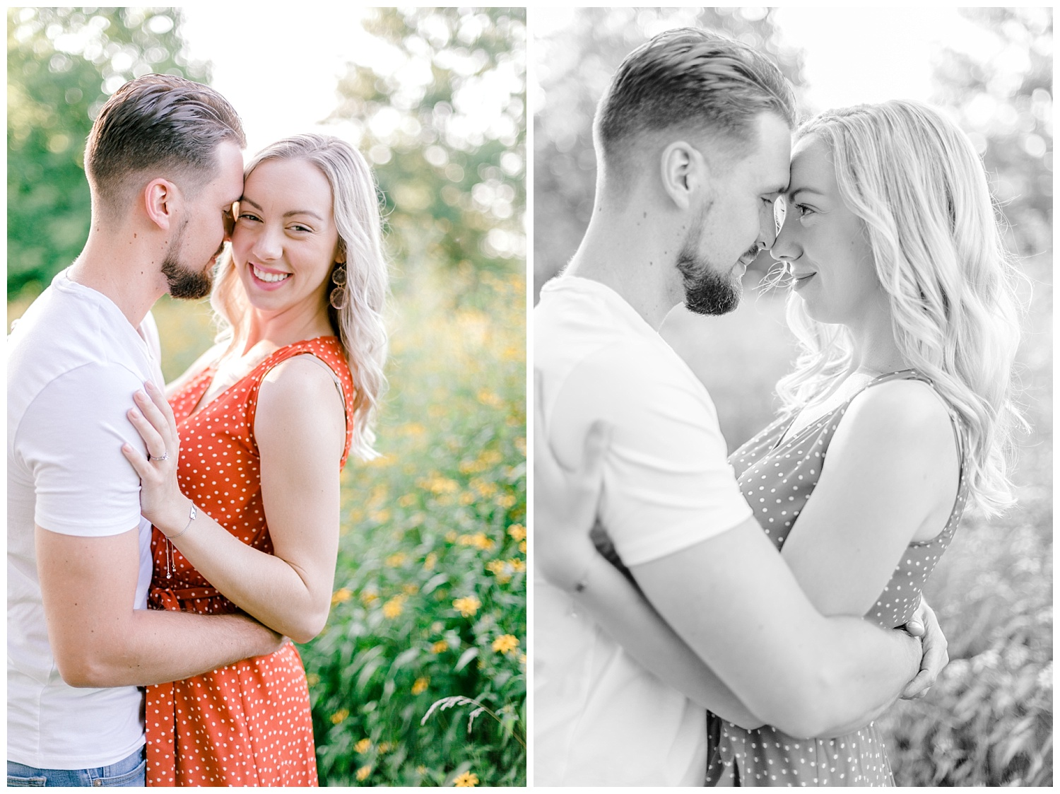 Blue Marsh Lake Reading Pennsylvania flower field golden hour engagement session by PA based wedding and lifestyle photographer Lytle photography_0004.jpg