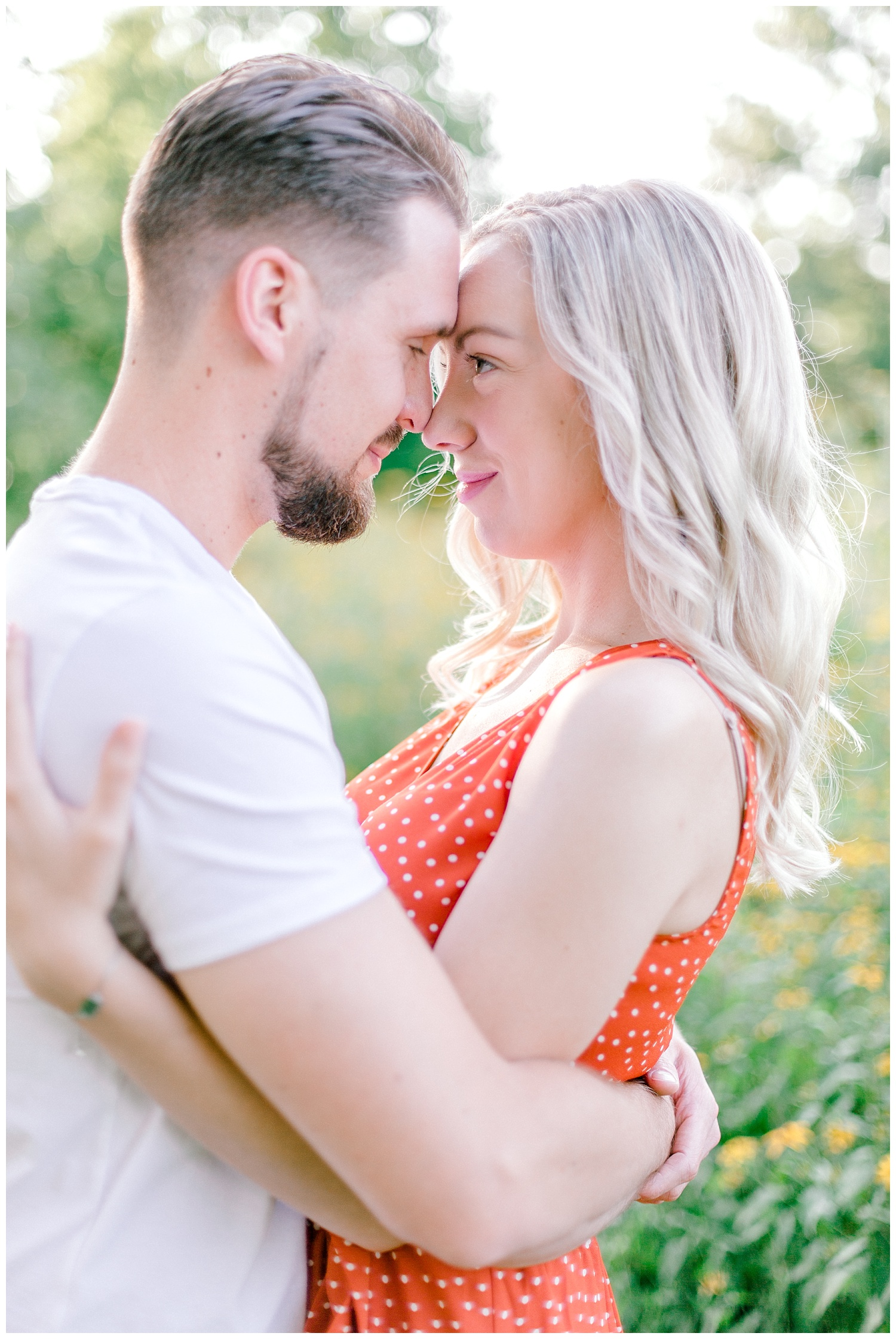 Blue Marsh Lake Reading Pennsylvania flower field golden hour engagement session by PA based wedding and lifestyle photographer Lytle photography_0003.jpg