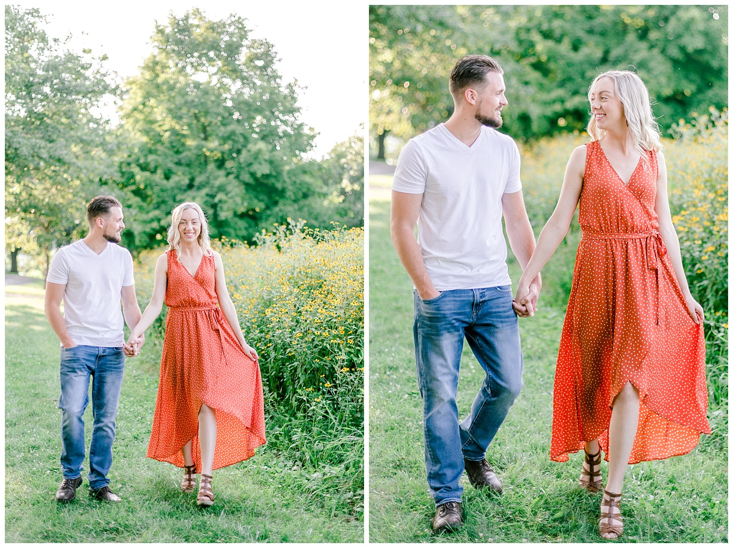 Blue Marsh Lake Reading Pennsylvania flower field golden hour engagement session by PA based wedding and lifestyle photographer Lytle photography_0005.jpg