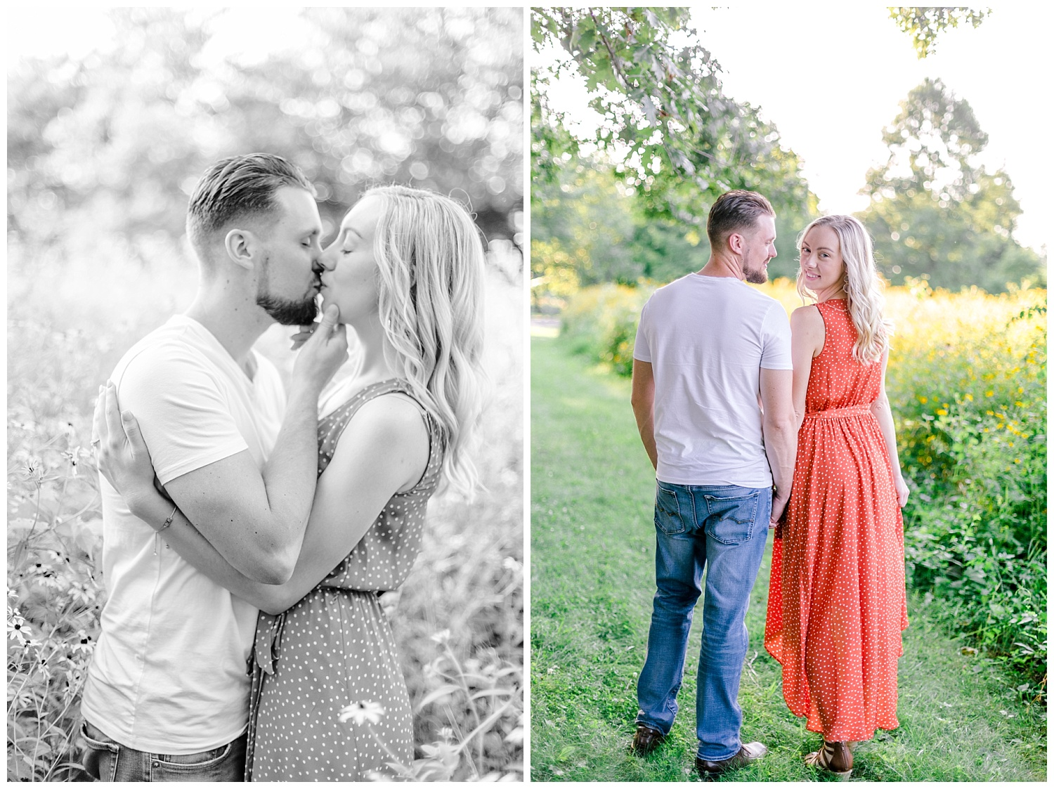 Blue Marsh Lake Reading Pennsylvania flower field golden hour engagement session by PA based wedding and lifestyle photographer Lytle photography_0011.jpg
