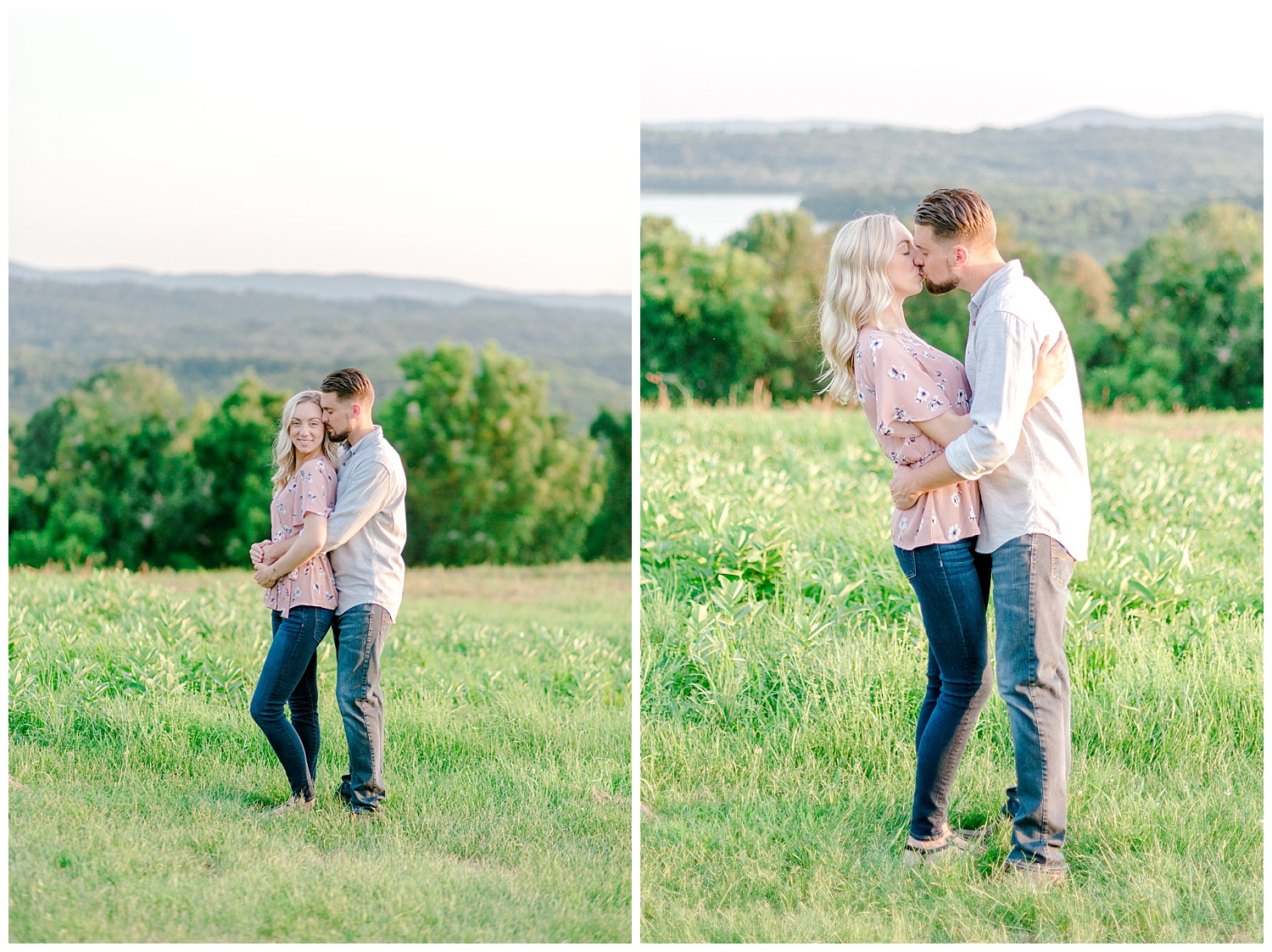 Blue Marsh Lake Reading Pennsylvania flower field golden hour engagement session by PA based wedding and lifestyle photographer Lytle photography_0020.jpg