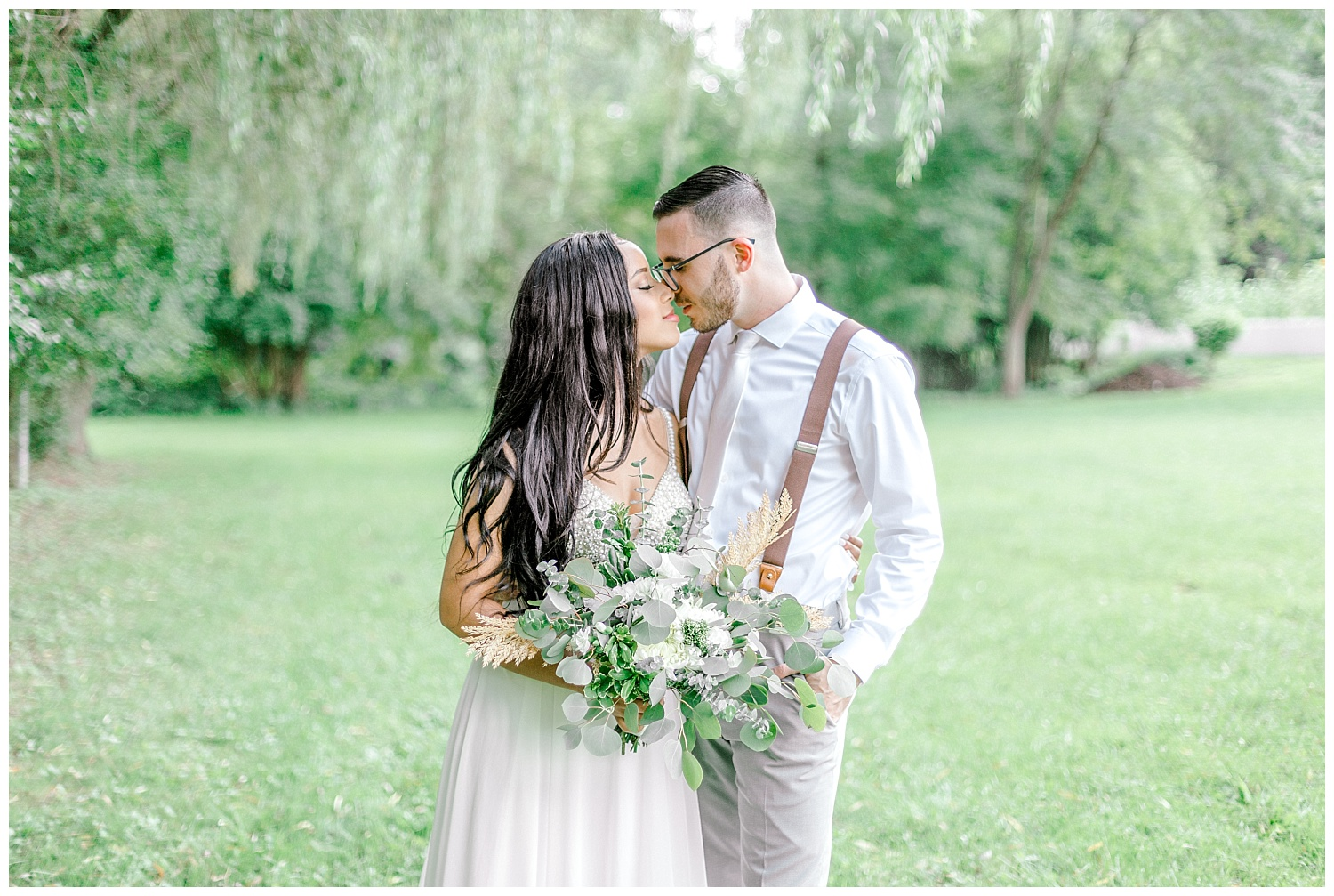 Olive green and white rustic barn wedding at burnside plantation in bethlehem pennsylvania by PA based destination wedding and lifestyle photographer Lytle photography (17).jpg