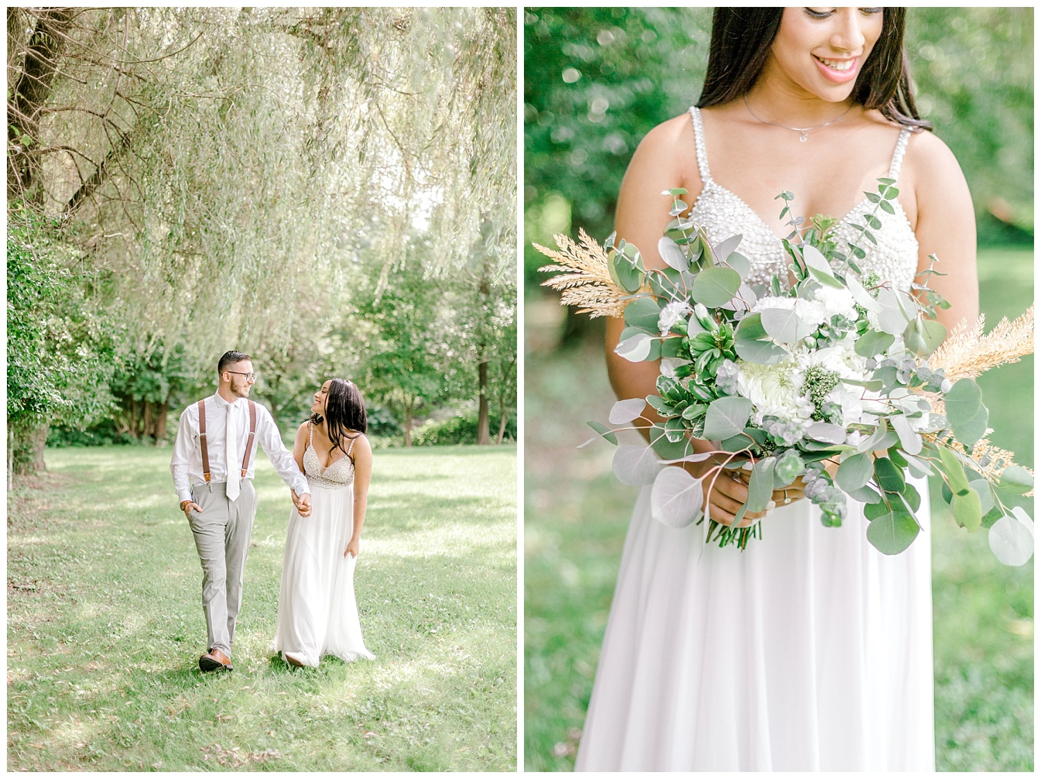 Olive green and white rustic barn wedding at burnside plantation in bethlehem pennsylvania by PA based destination wedding and lifestyle photographer Lytle photography (14).jpg
