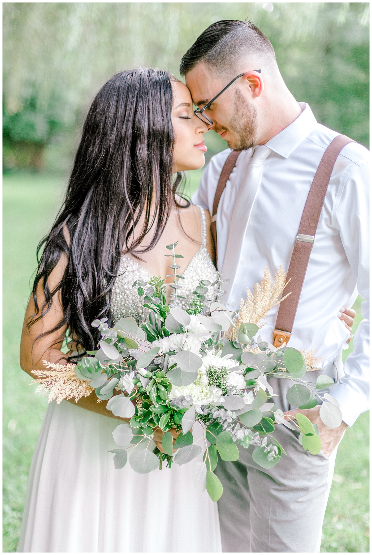 Olive green and white rustic barn wedding at burnside plantation in bethlehem pennsylvania by PA based destination wedding and lifestyle photographer Lytle photography (16).jpg