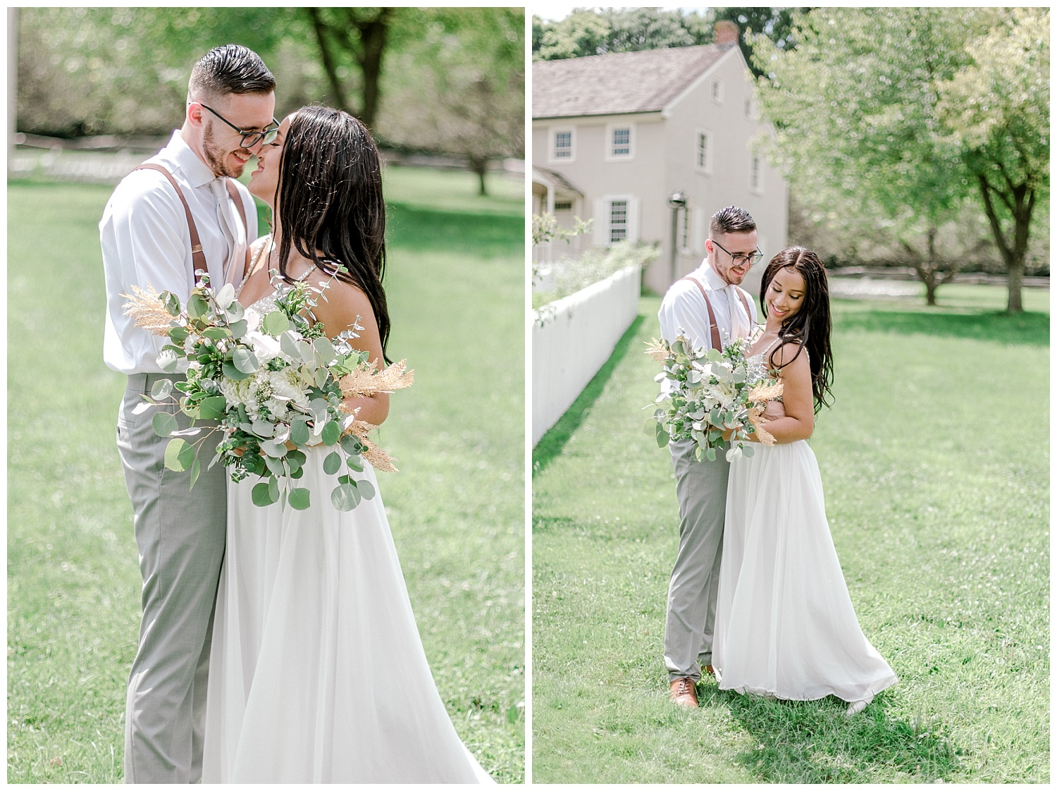 Olive green and white rustic barn wedding at burnside plantation in bethlehem pennsylvania by PA based destination wedding and lifestyle photographer Lytle photography (23).jpg