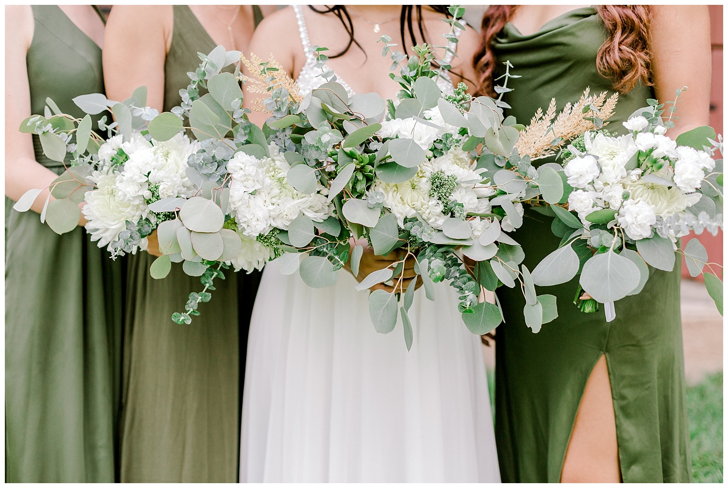 Olive green and white rustic barn wedding at burnside plantation in bethlehem pennsylvania by PA based destination wedding and lifestyle photographer Lytle photography (30).jpg
