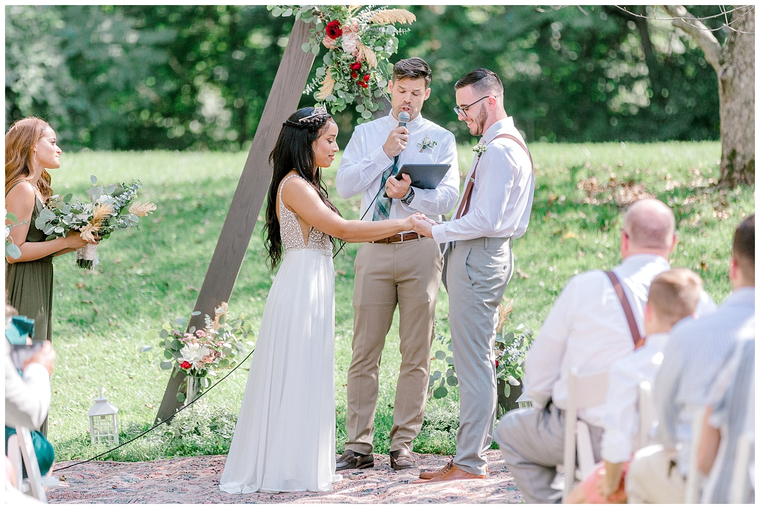 Olive green and white rustic barn wedding at burnside plantation in bethlehem pennsylvania by PA based destination wedding and lifestyle photographer Lytle photography (43).jpg
