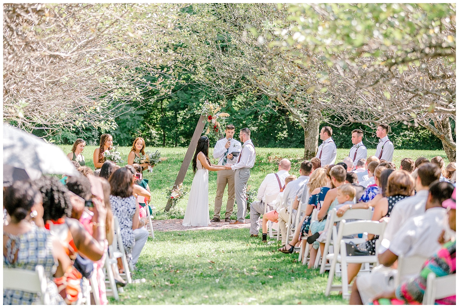 Olive green and white rustic barn wedding at burnside plantation in bethlehem pennsylvania by PA based destination wedding and lifestyle photographer Lytle photography (45).jpg