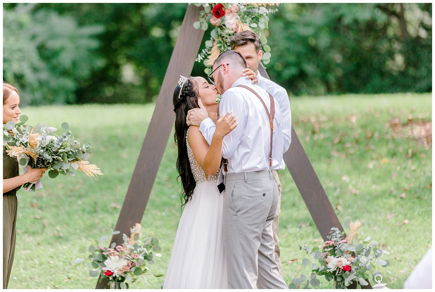 Olive green and white rustic barn wedding at burnside plantation in bethlehem pennsylvania by PA based destination wedding and lifestyle photographer Lytle photography (47).jpg