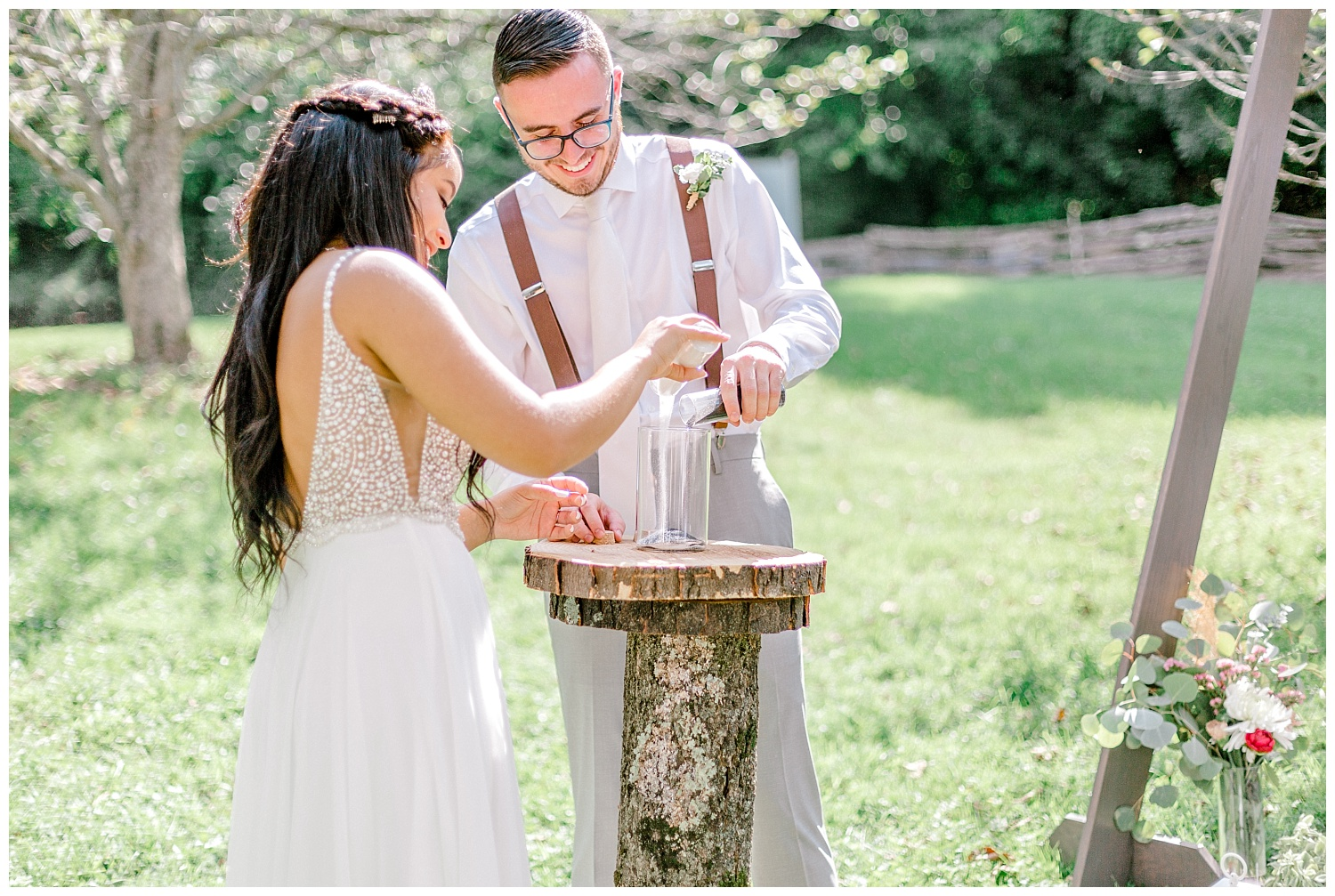 Olive green and white rustic barn wedding at burnside plantation in bethlehem pennsylvania by PA based destination wedding and lifestyle photographer Lytle photography (48).jpg
