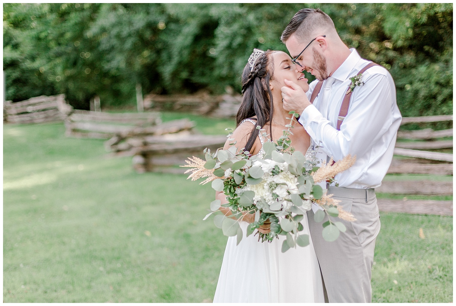 Olive green and white rustic barn wedding at burnside plantation in bethlehem pennsylvania by PA based destination wedding and lifestyle photographer Lytle photography (54).jpg