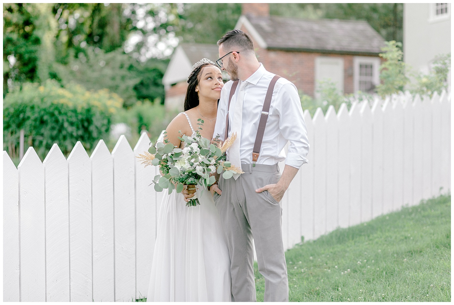 Olive green and white rustic barn wedding at burnside plantation in bethlehem pennsylvania by PA based destination wedding and lifestyle photographer Lytle photography (75).jpg