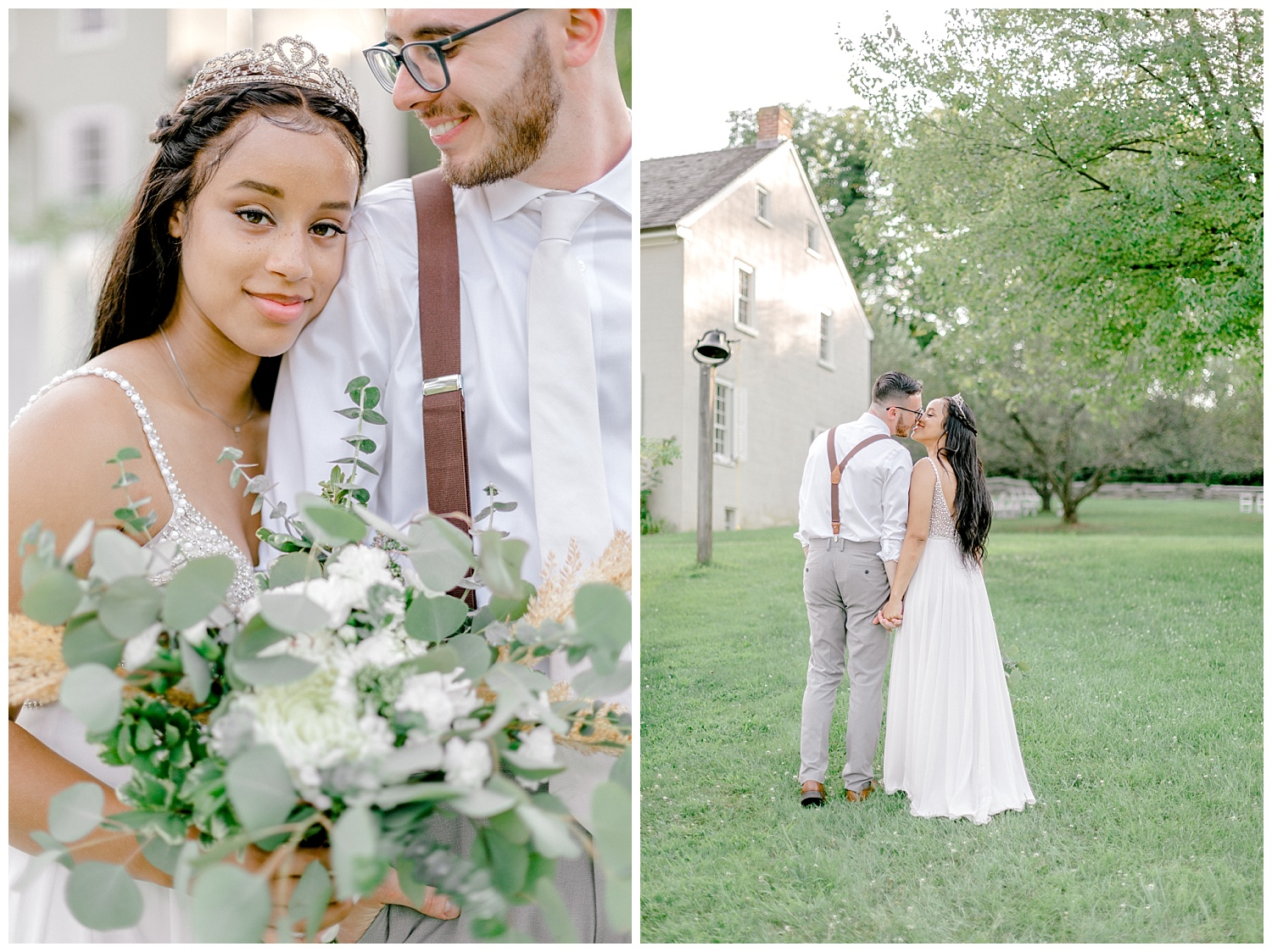 Olive green and white rustic barn wedding at burnside plantation in bethlehem pennsylvania by PA based destination wedding and lifestyle photographer Lytle photography (74).jpg