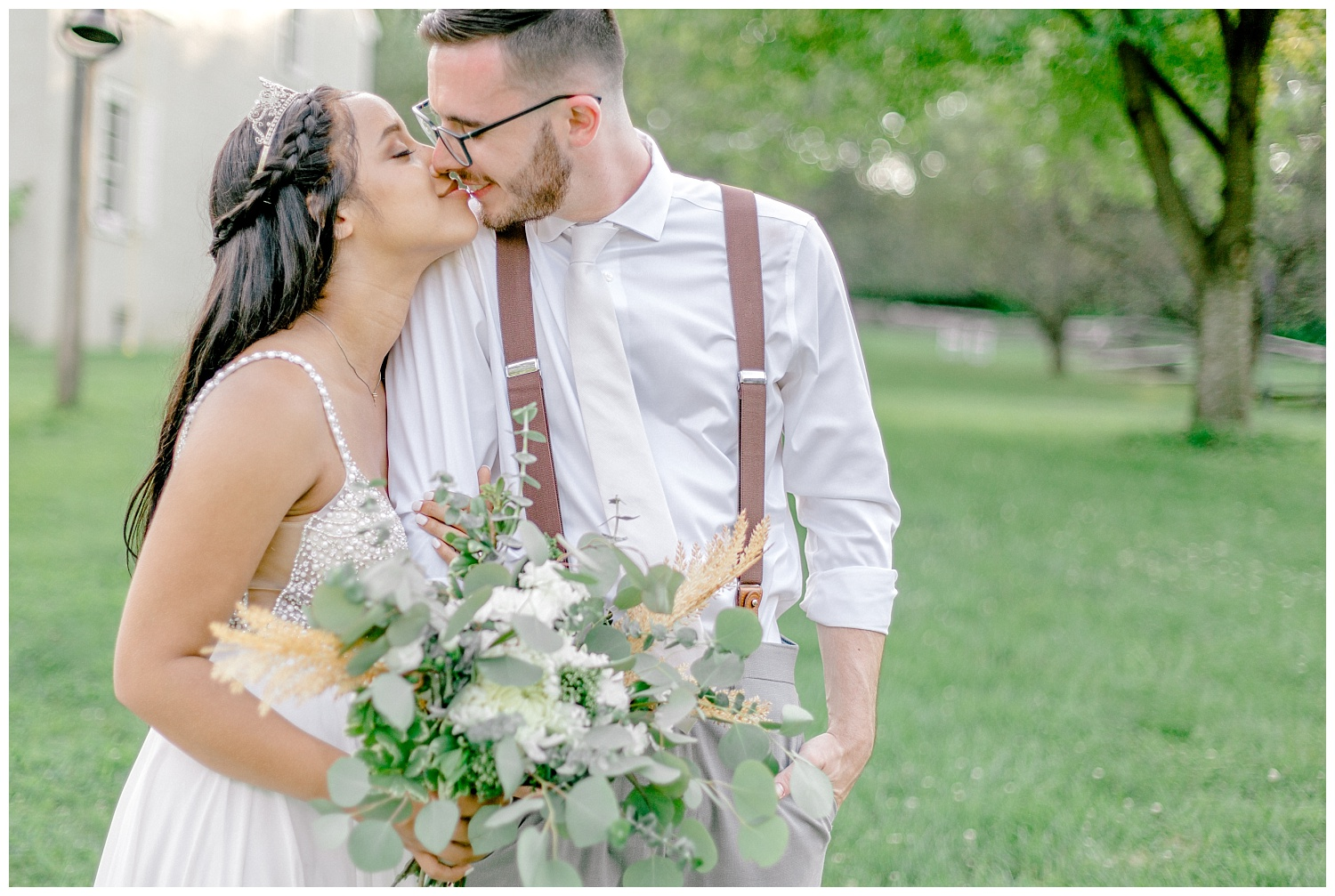 Olive green and white rustic barn wedding at burnside plantation in bethlehem pennsylvania by PA based destination wedding and lifestyle photographer Lytle photography (78).jpg