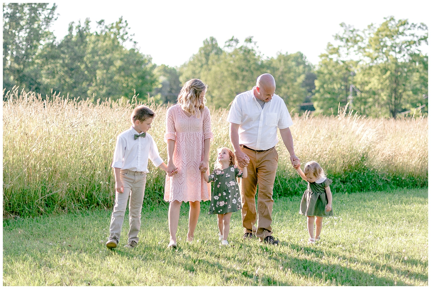 Upstate New York olive green and blush lavender field farm golden hour family session by lehigh valley Pennsylvania based wedding and lifestyle photographer Lytle photography_0009.jpg